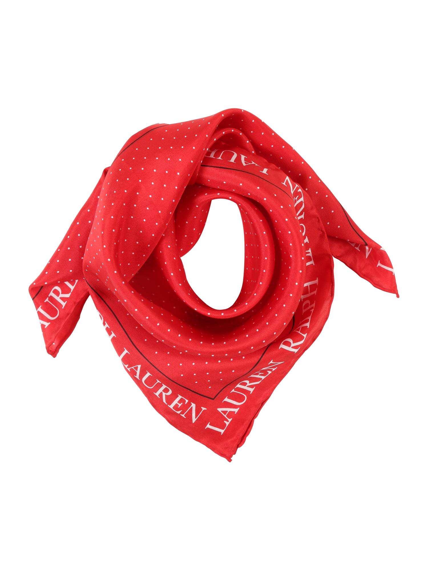 Šátek červená Lauren Ralph Lauren