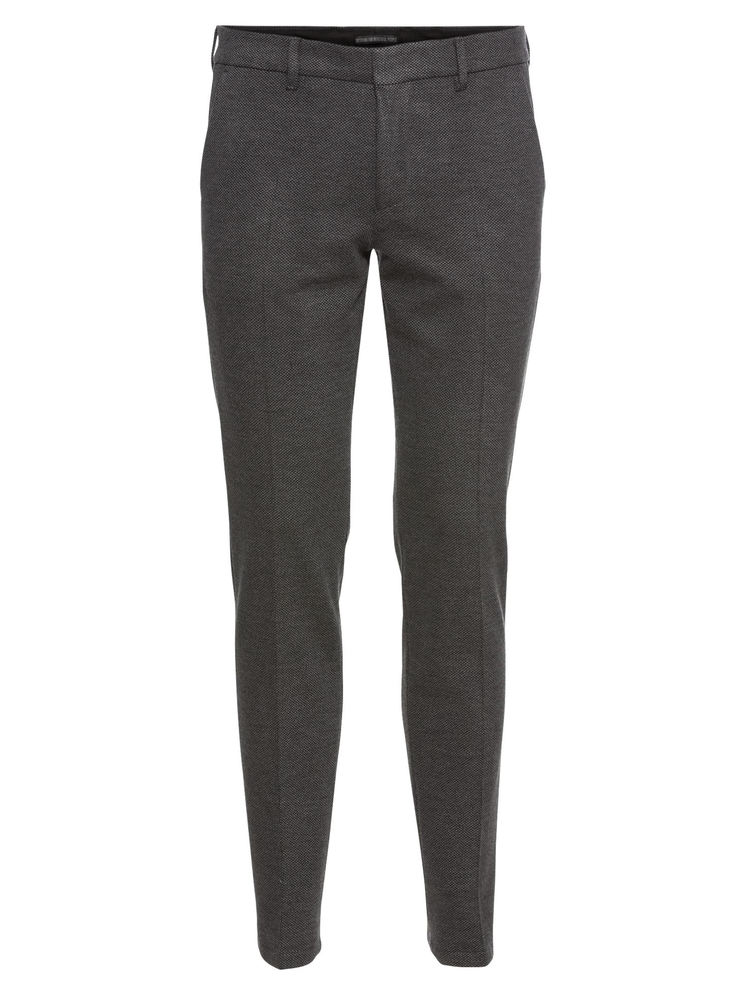 Kalhoty s puky SIGHT šedá DRYKORN