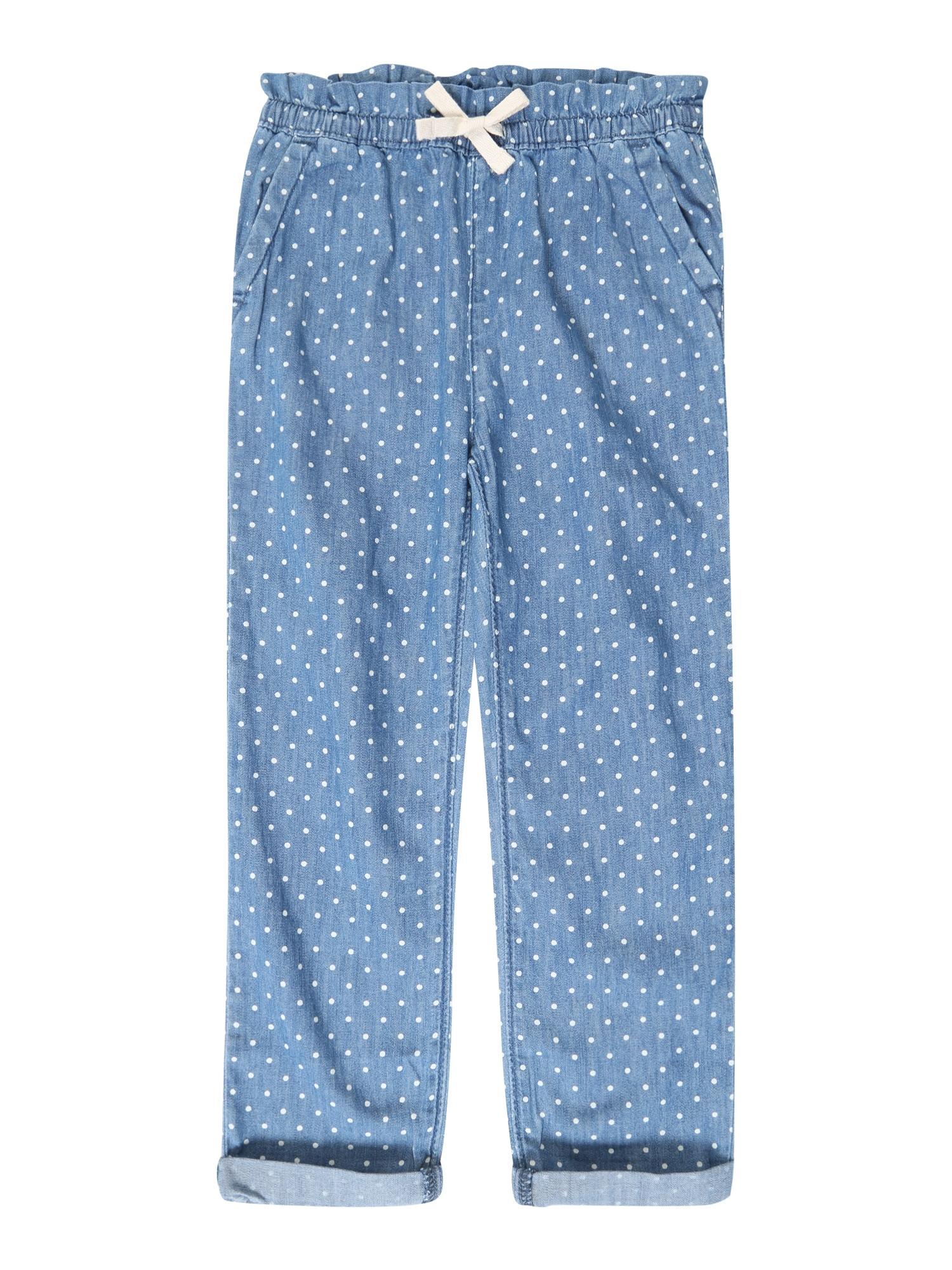 Džíny V-GO DOT EASY PANT modrá džínovina GAP