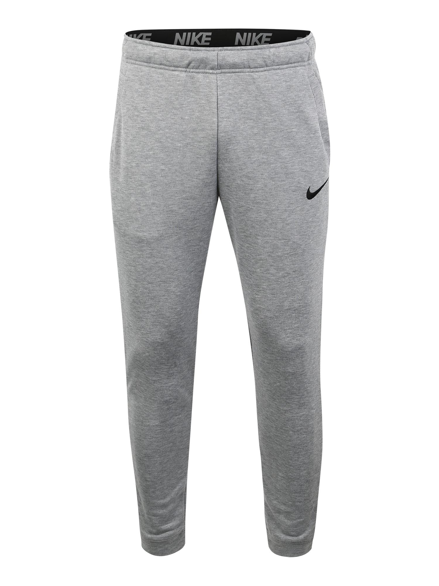 Sportovní kalhoty světle šedá NIKE