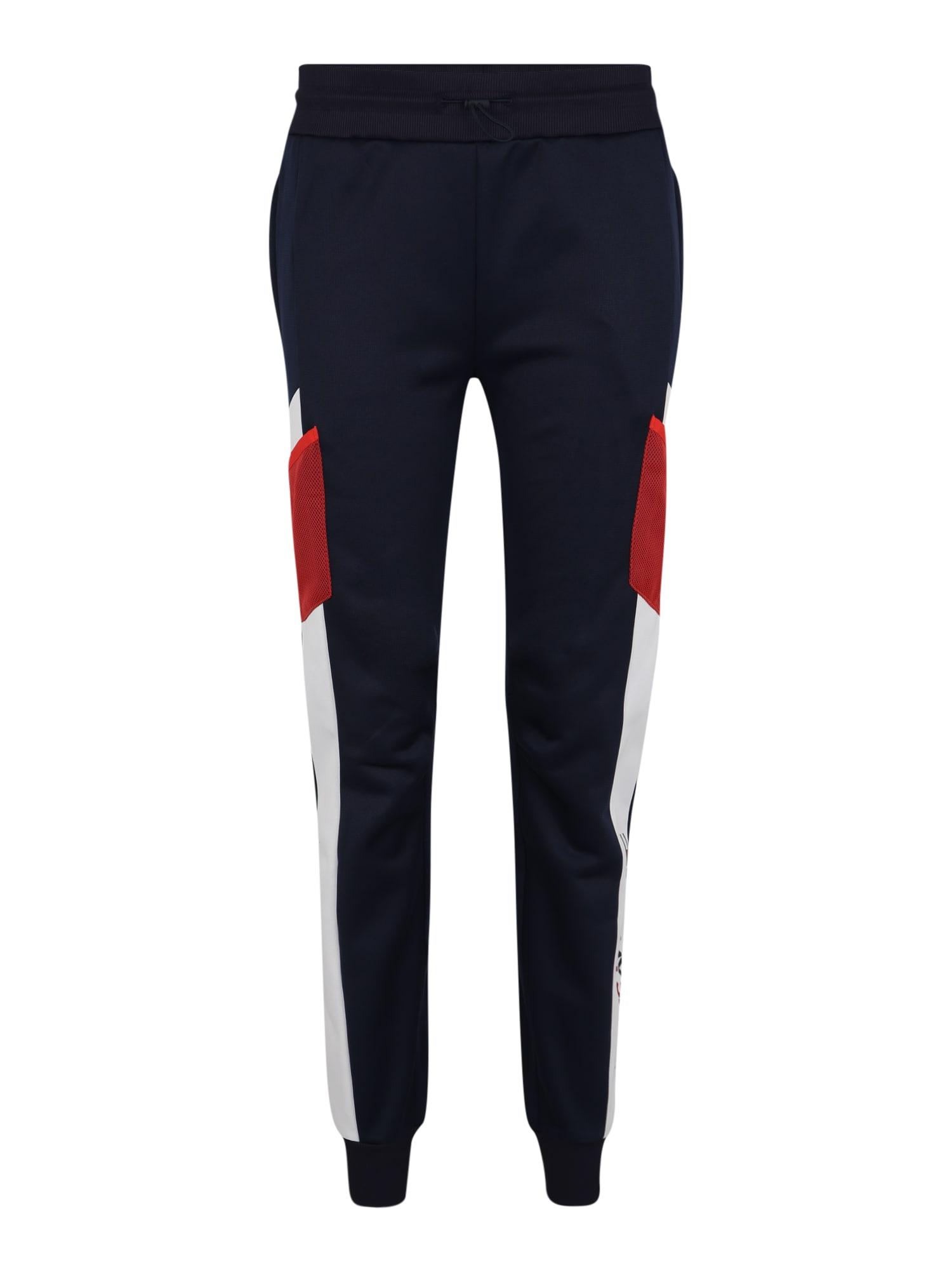 Sportovní kalhoty BLOCKED FLEECE JOGGE marine modrá Tommy Sport