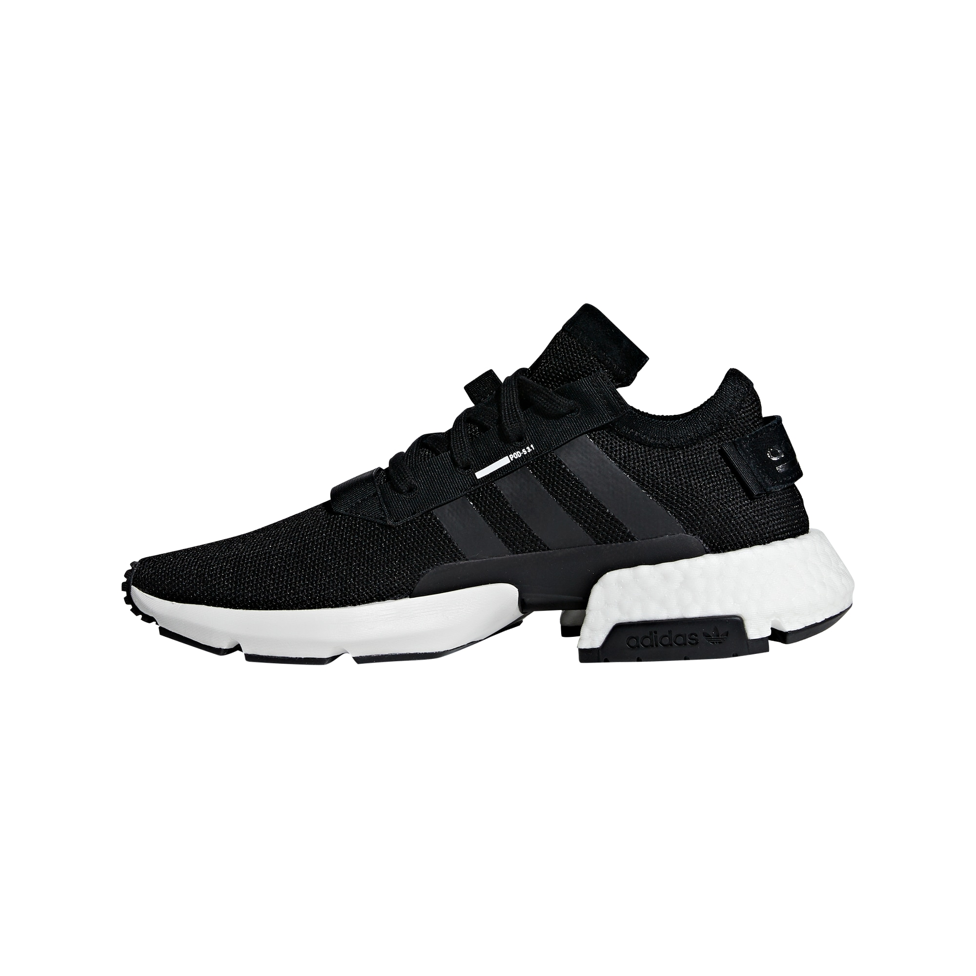ADIDAS ORIGINALS, Heren Sneakers laag 'POD-S3.1', zwart / wit