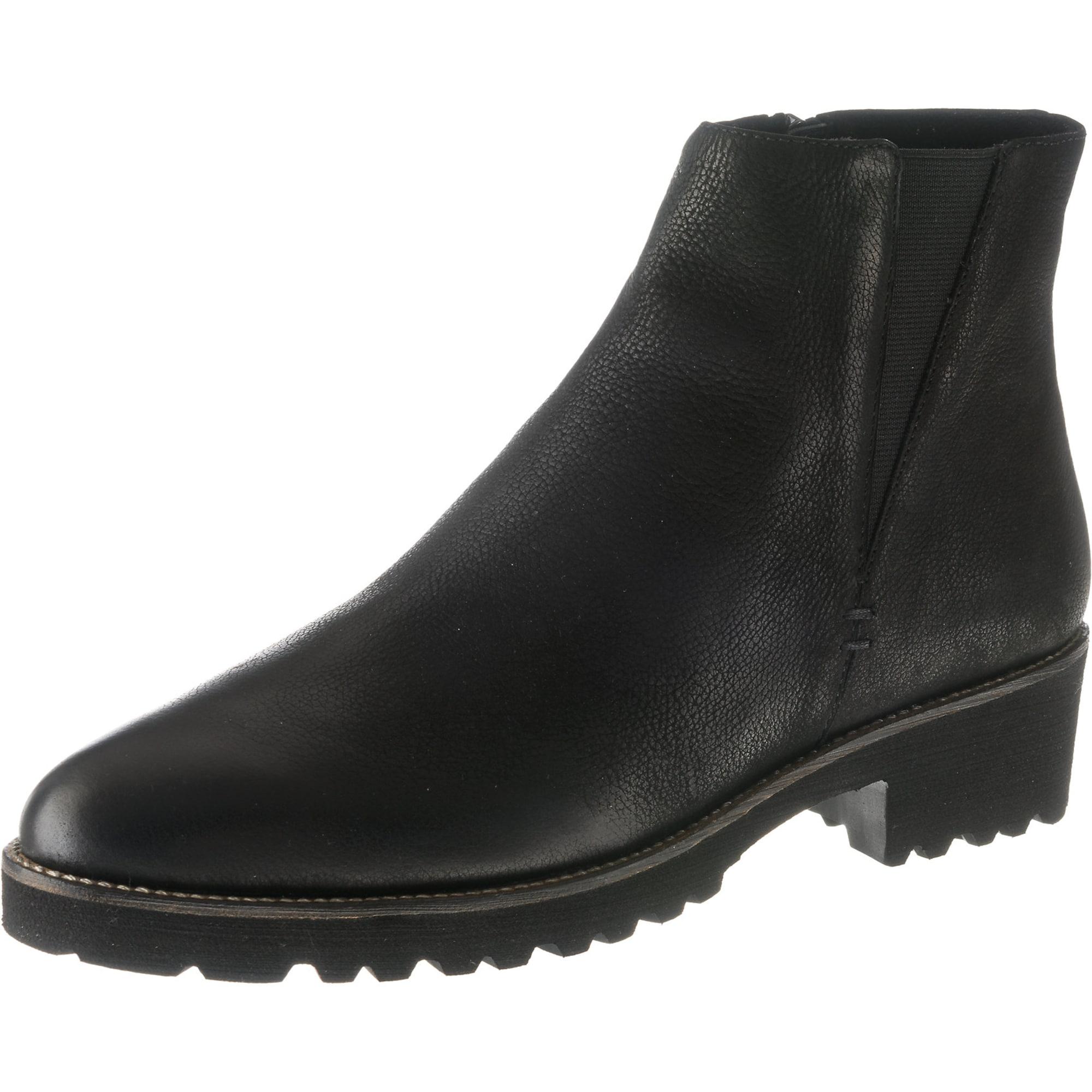 Kotníkové boty Pikery černá SPM