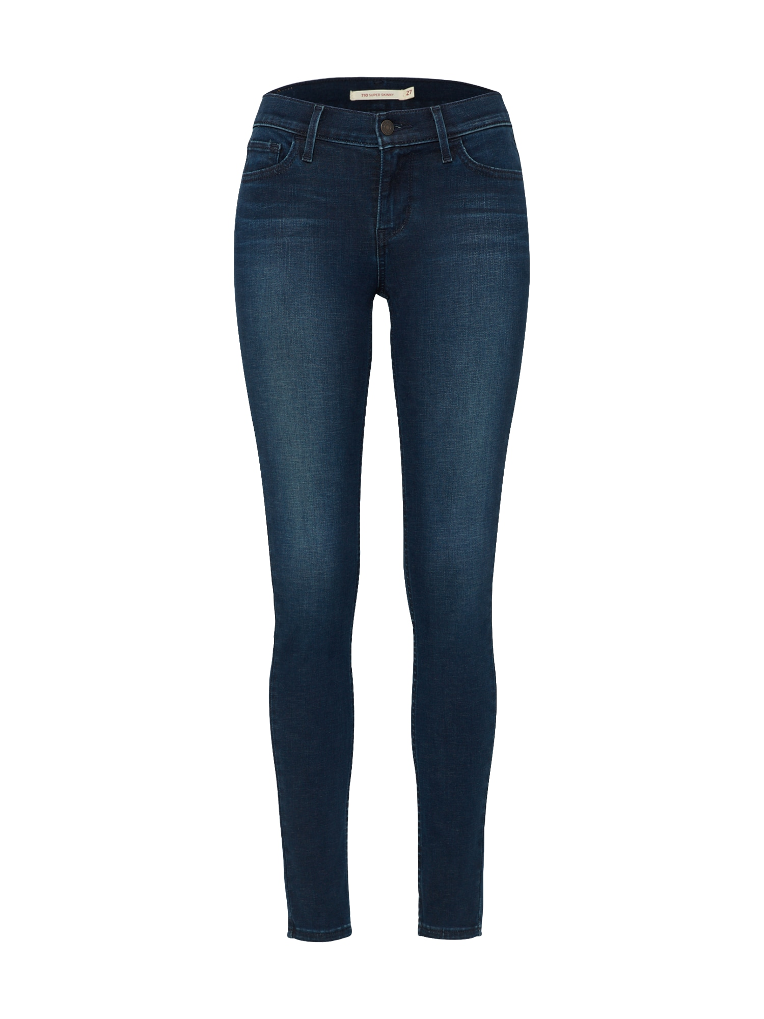 LEVI'S Dames Jeans 710 Innovation Super Skinny blue denim