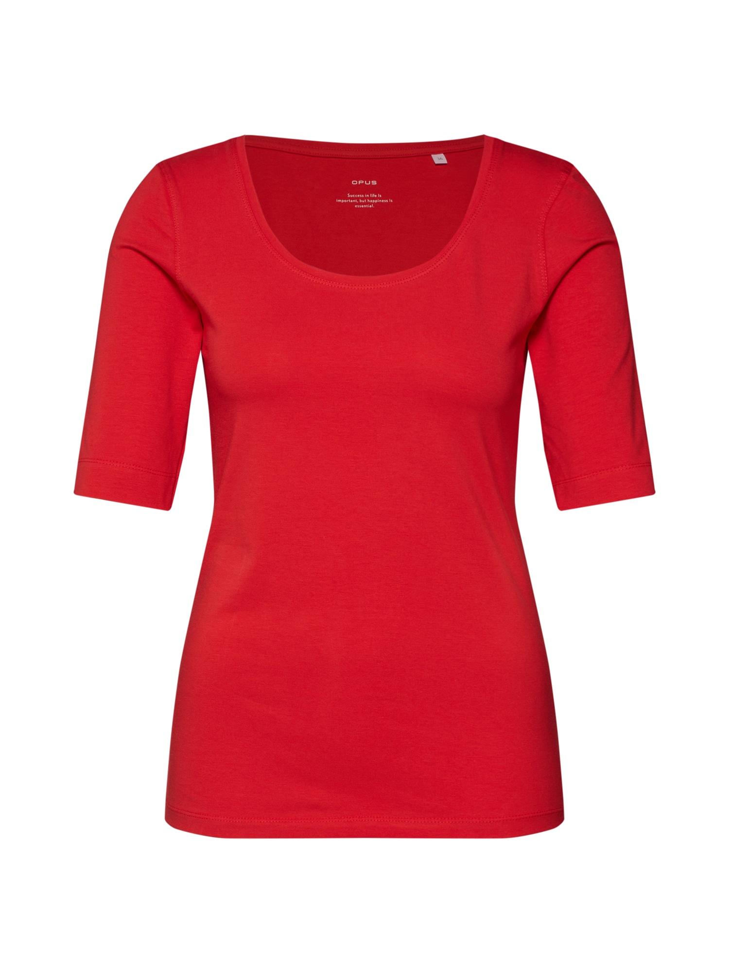 Tričko Sanika červená OPUS