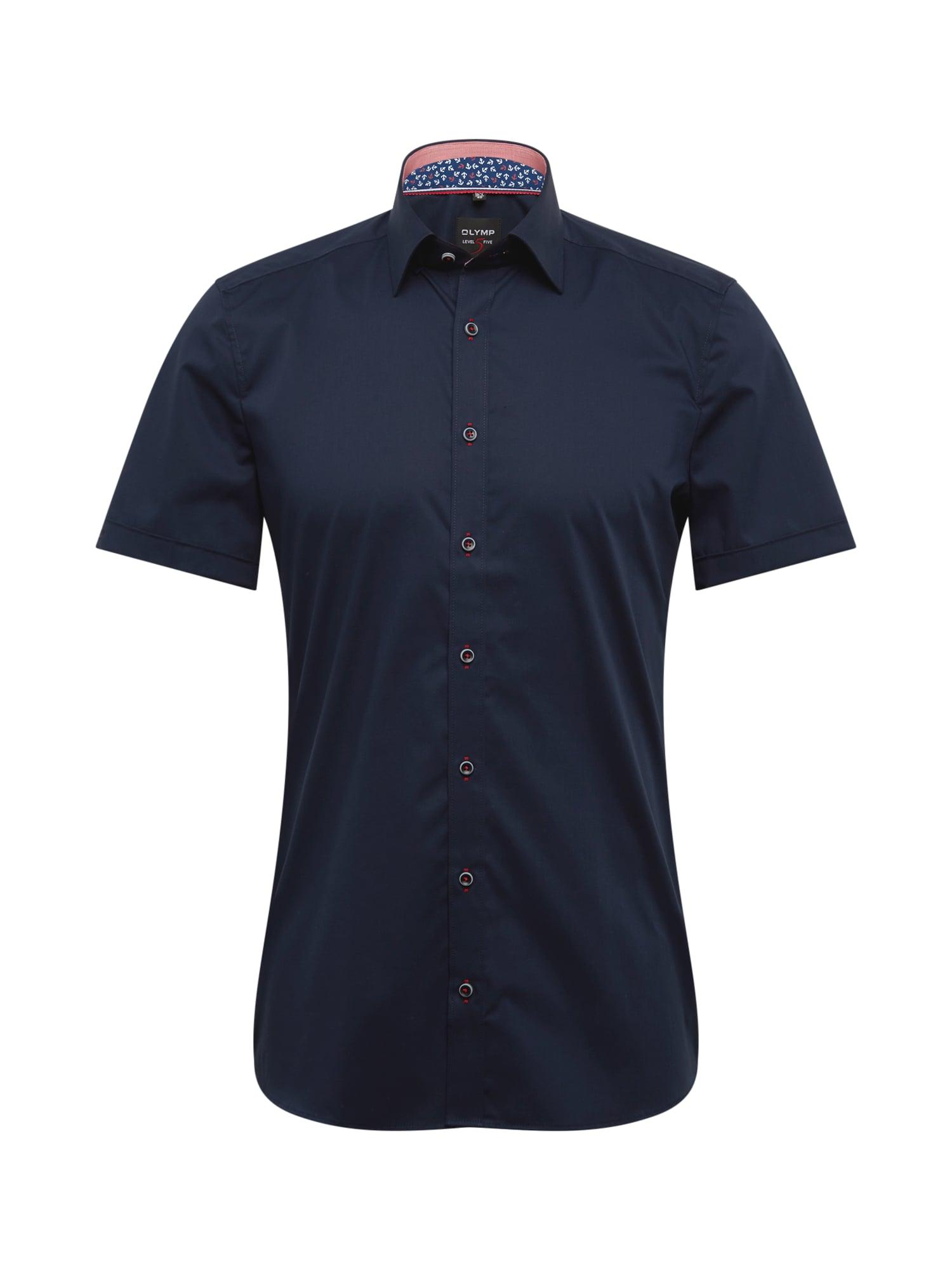 Košile 5 City modrá OLYMP