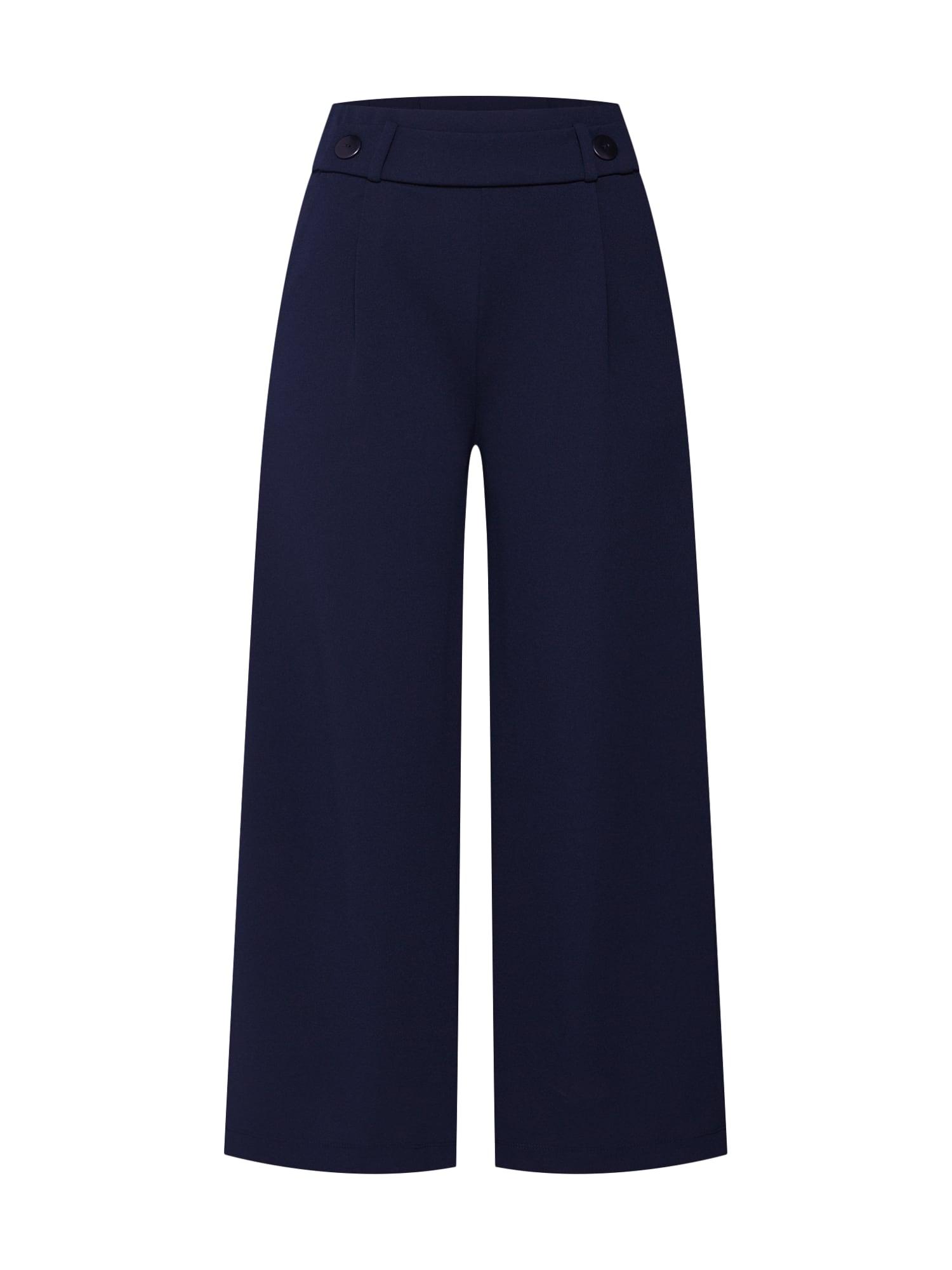Kalhoty se sklady v pase GEGGO noční modrá JACQUELINE De YONG