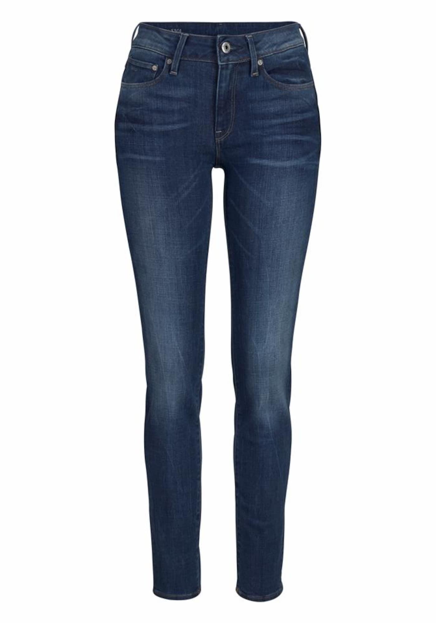G-STAR RAW Dames Jeans 3301 blue denim