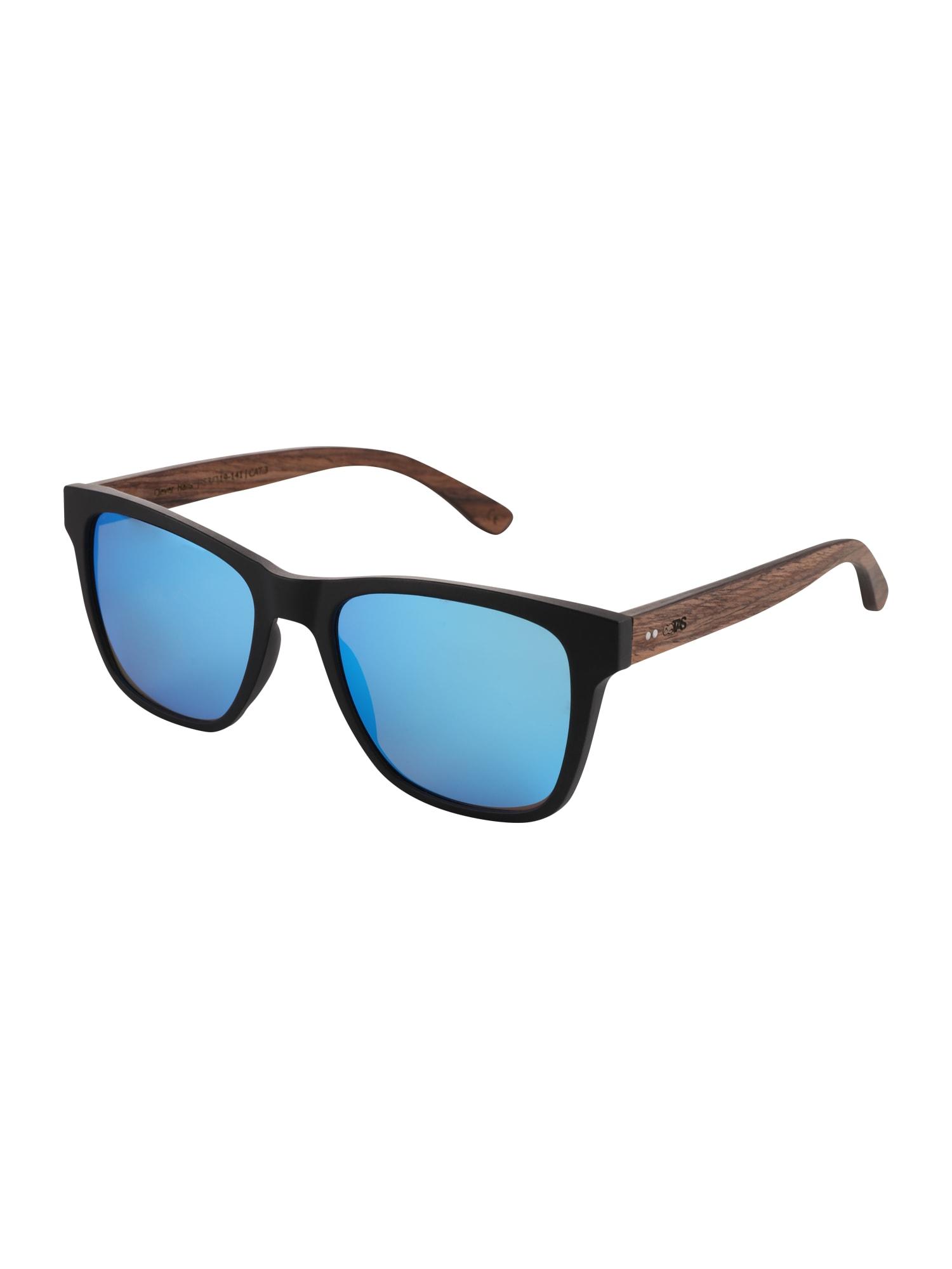 Sluneční brýle New Grimm Collection modrá hnědá černá TAKE A SHOT