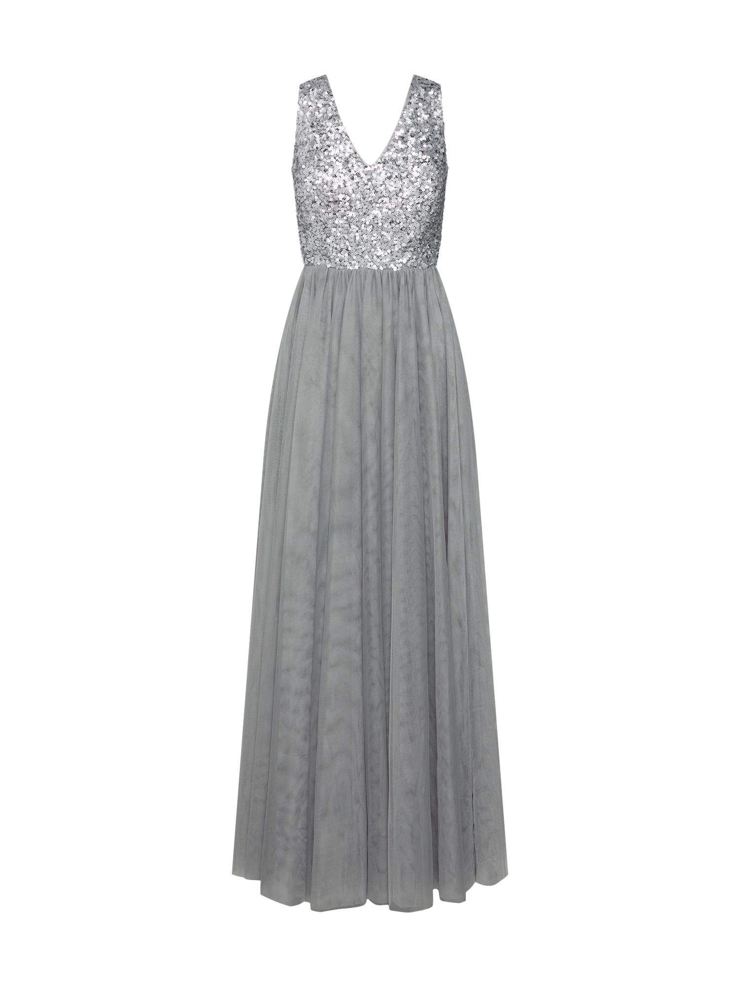 Společenské šaty new soft tulle Dresses light woven šedá Esprit Collection