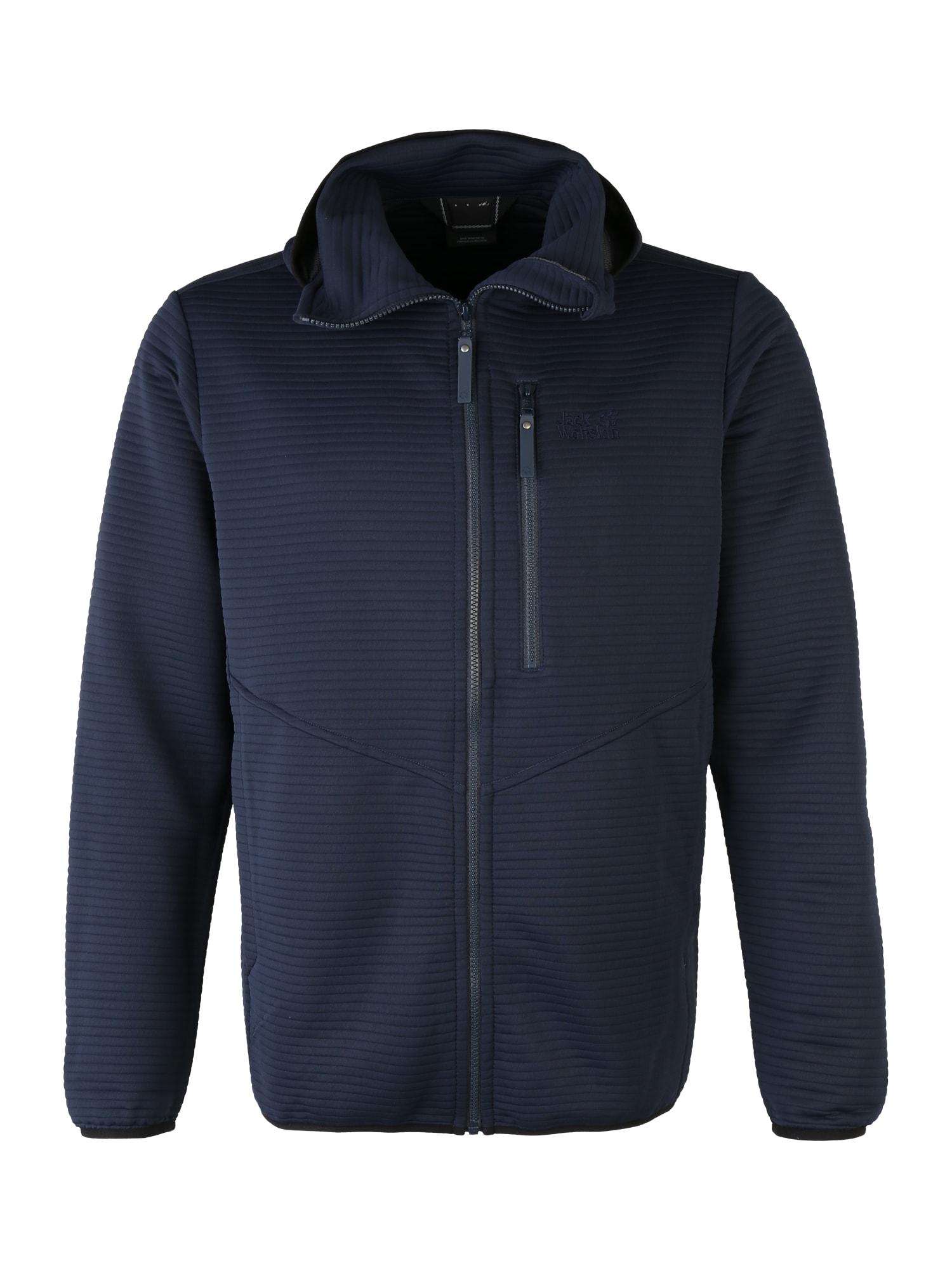 Outdoorová bunda MODESTO HOODED noční modrá JACK WOLFSKIN