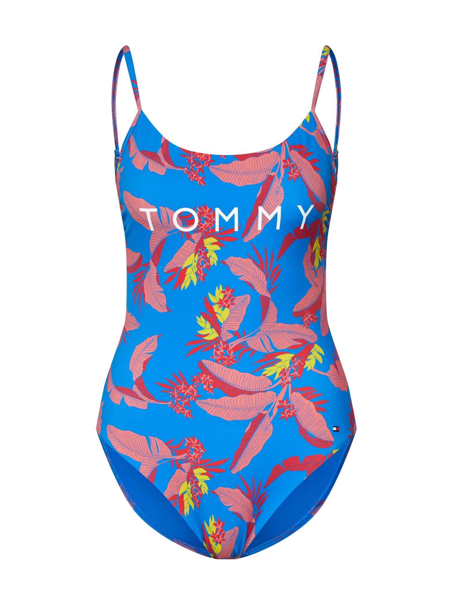 Plavky ONE-PIECE modrá mix barev Tommy Hilfiger Underwear
