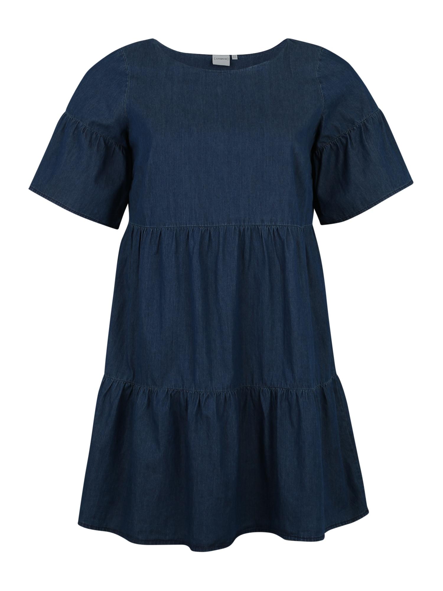 Šaty ALLEGRA modrá džínovina Junarose