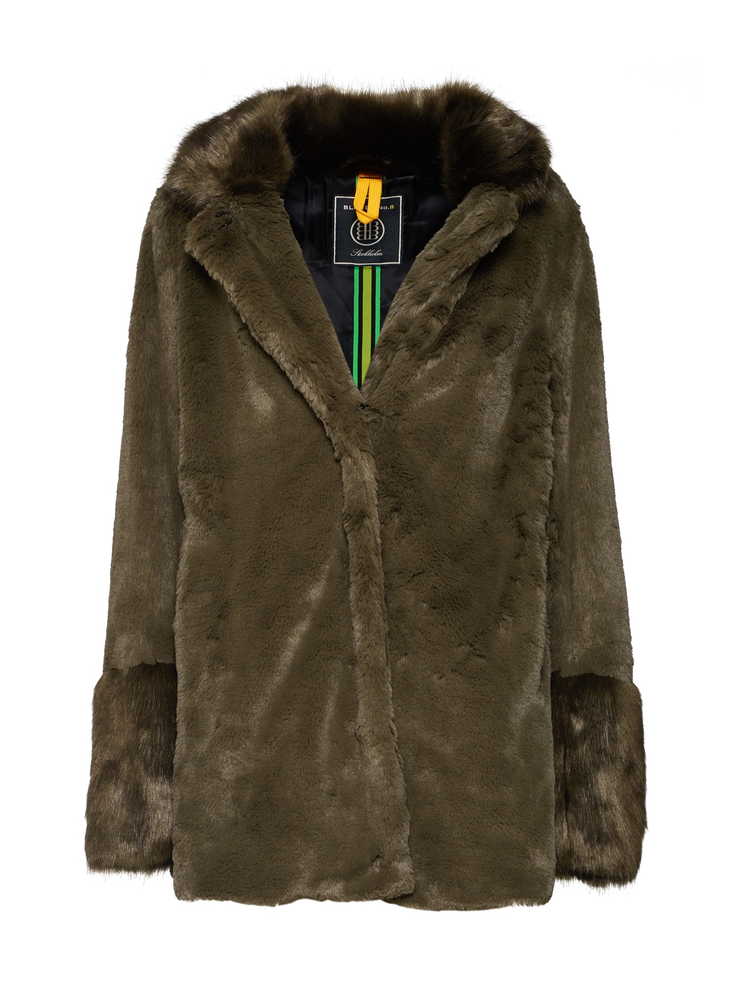 Zimní bunda MELINA tmavě zelená BLONDE No. 8