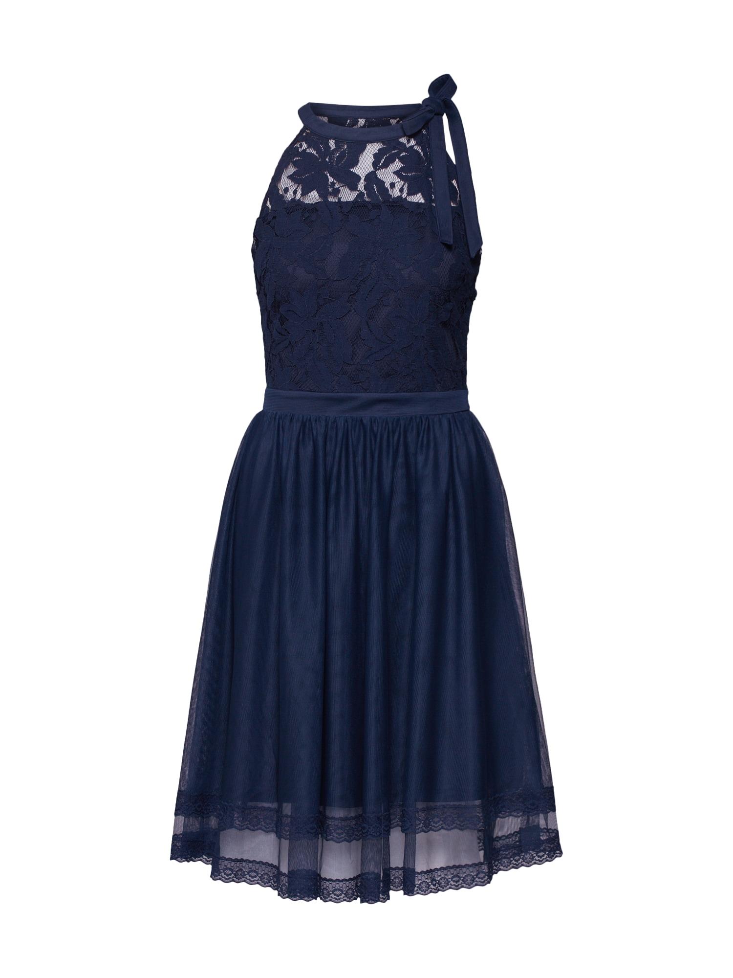 VILA Sukienka koktajlowa 'ZINNA'  ciemny niebieski