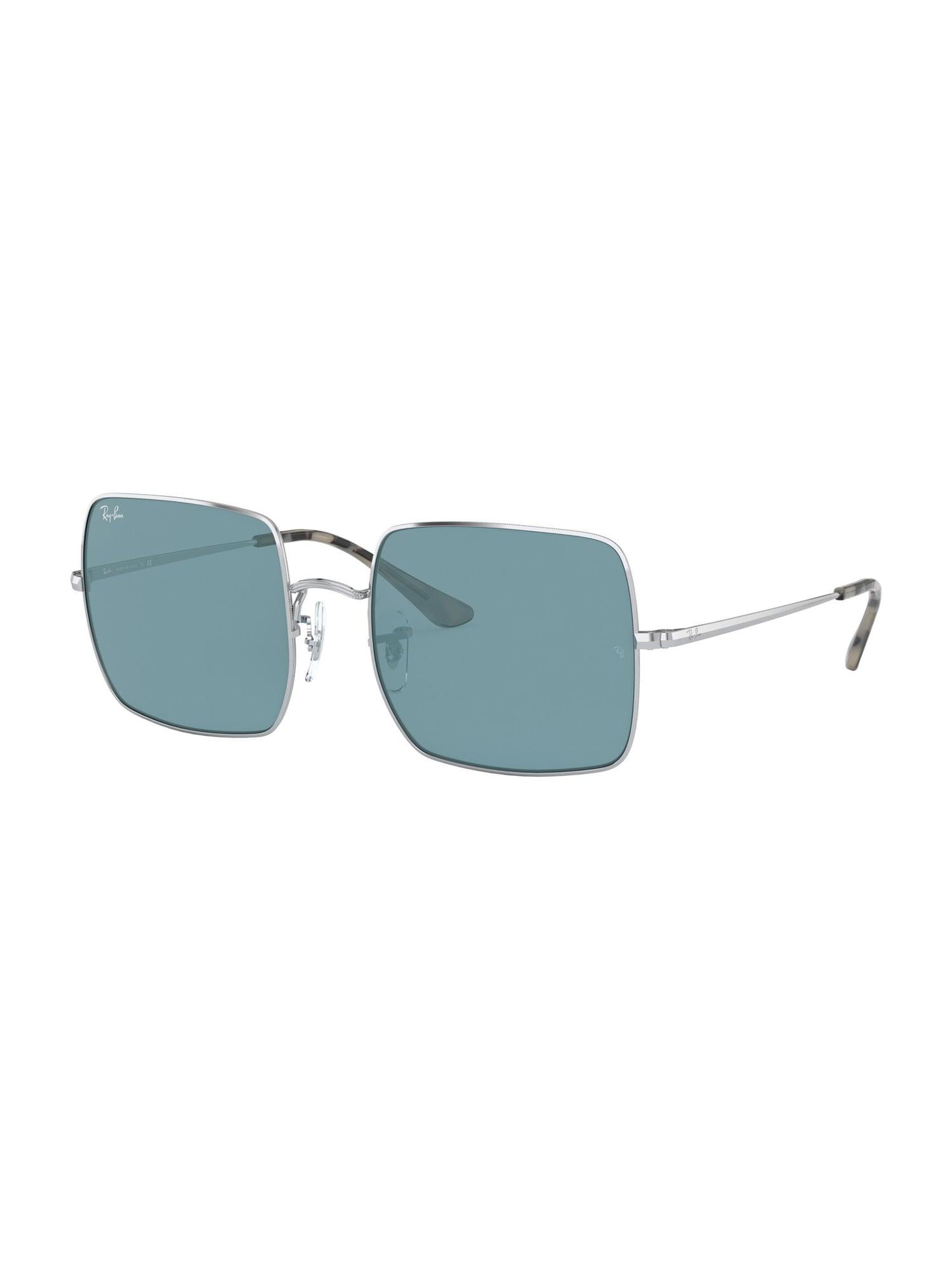 Ray-Ban Sluneční brýle 'SQUARE'  modrá / stříbrná