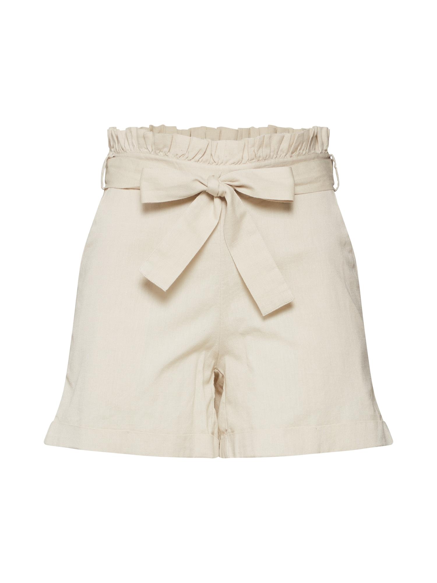 Kalhoty béžová Noisy May