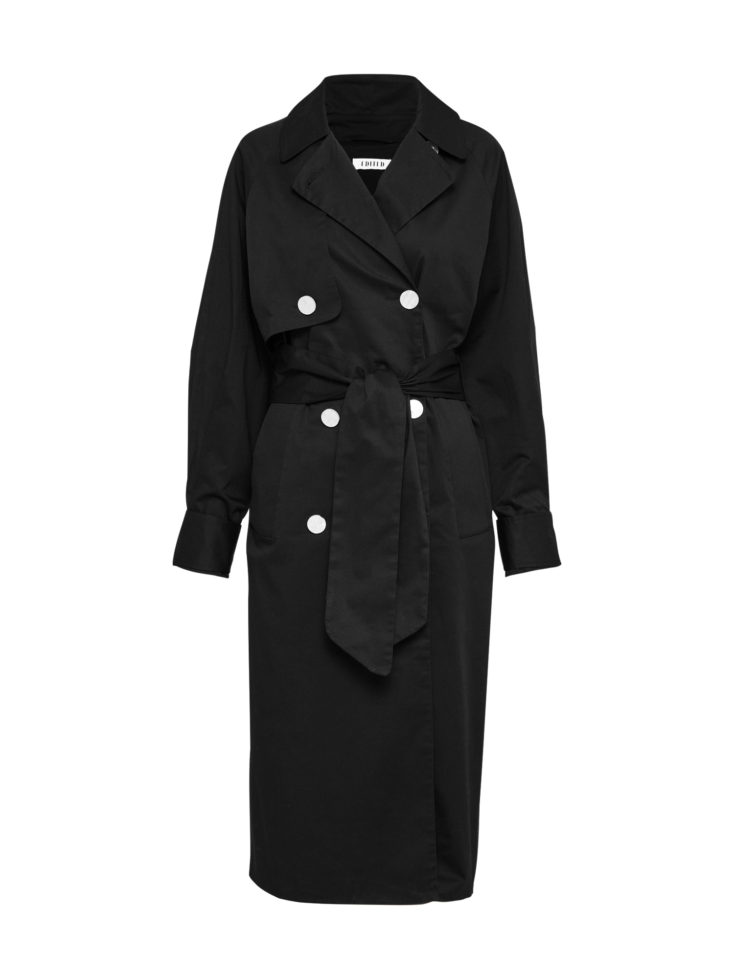 Přechodný kabát Clea černá EDITED