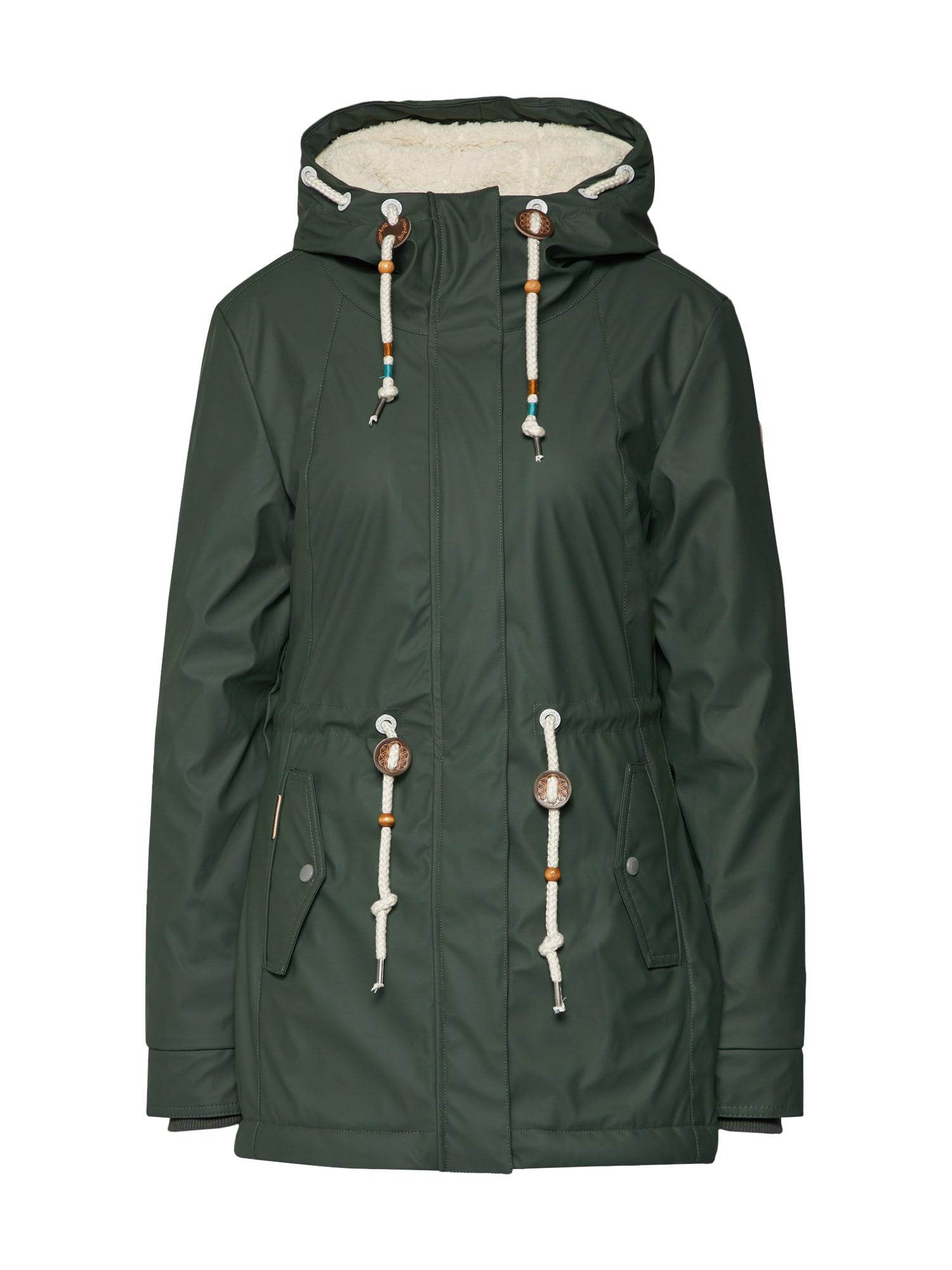 Přechodná bunda Monadis Rainy tmavě zelená Ragwear