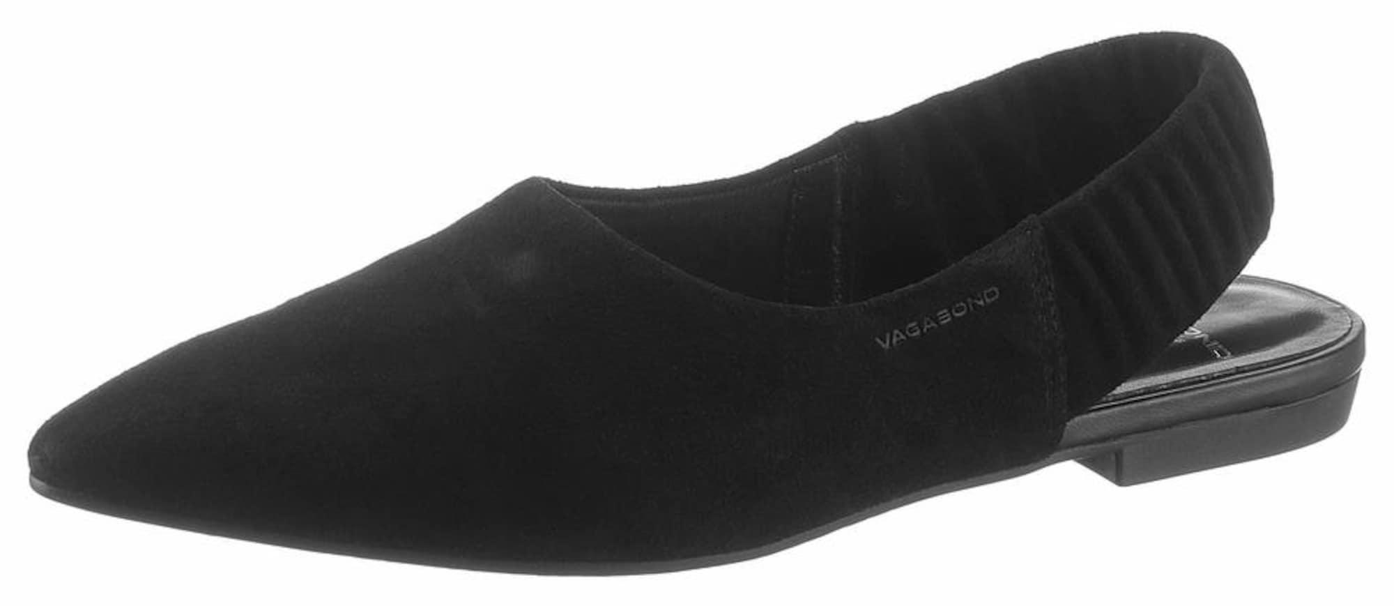 Pantofle černá VAGABOND SHOEMAKERS