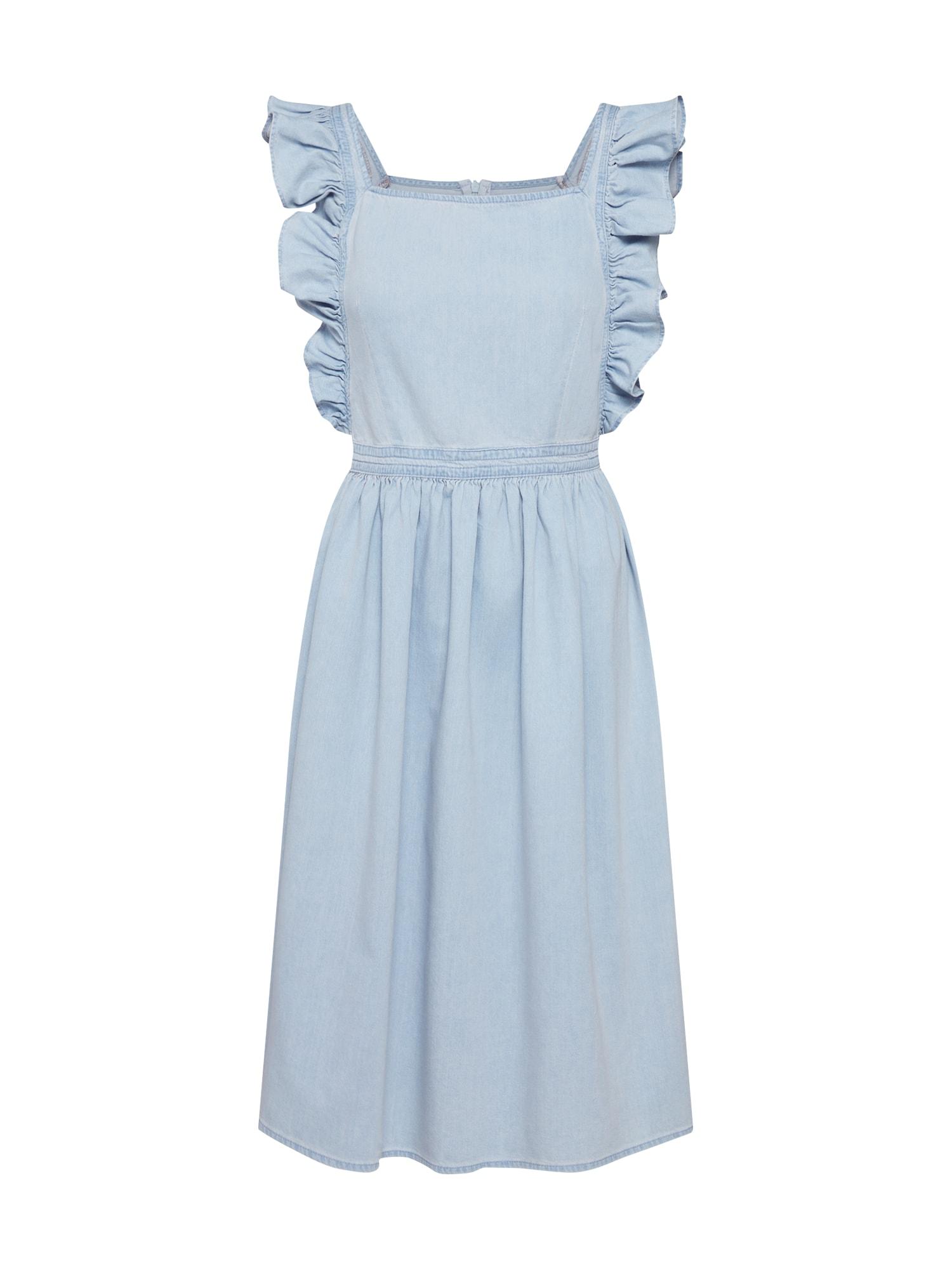 Letní šaty modrá NA-KD