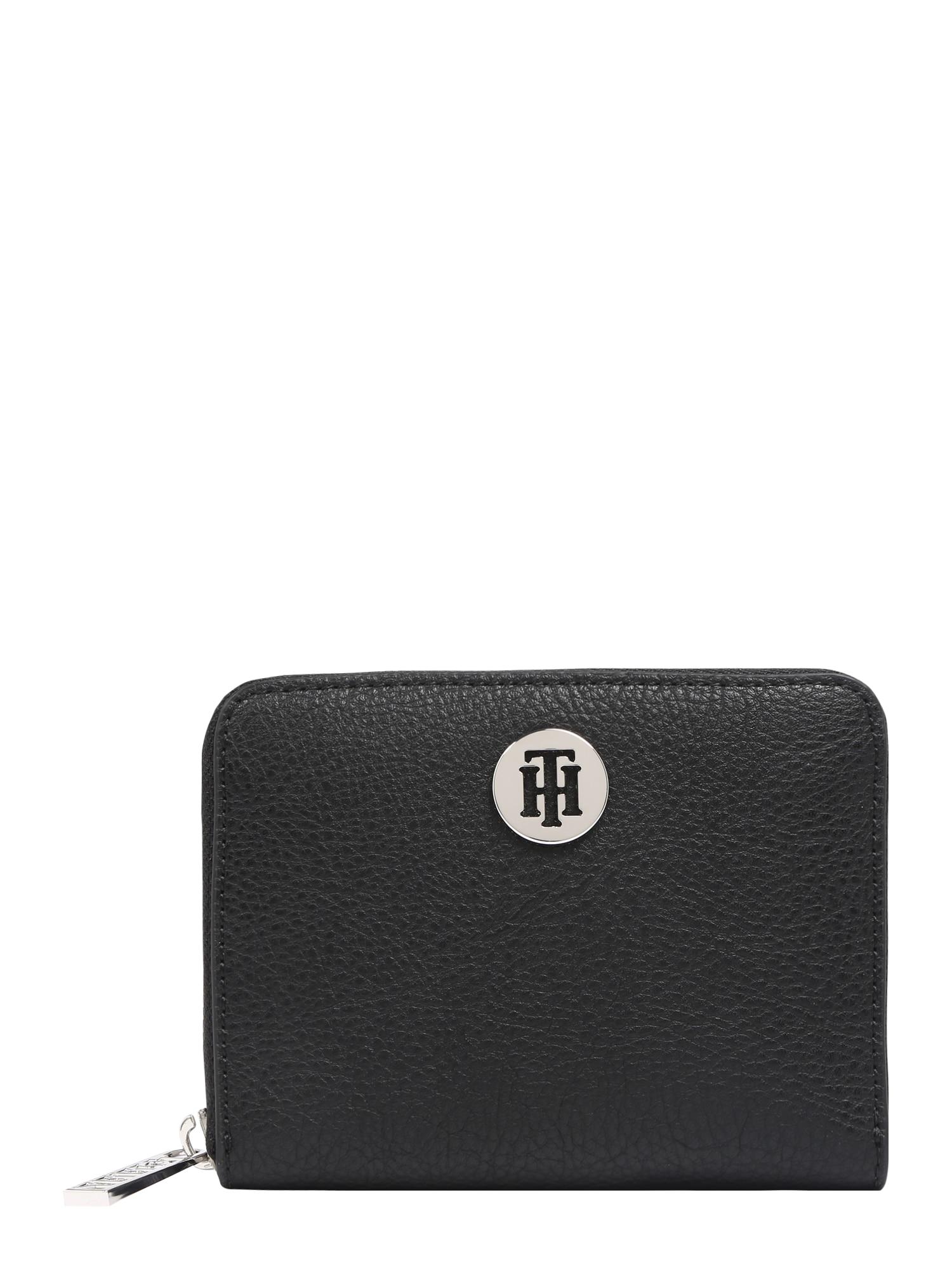 Peněženka TH Core Compact ZA Wallet černá TOMMY HILFIGER