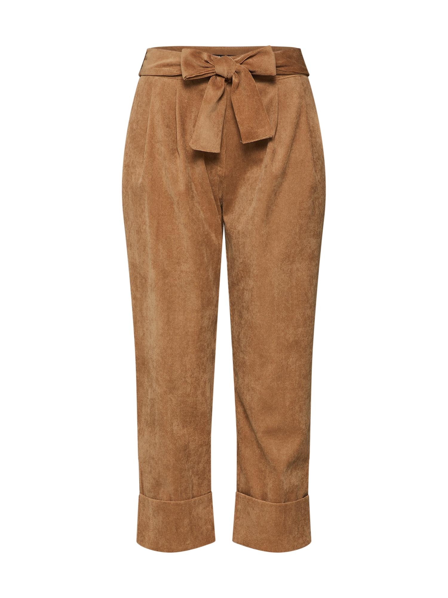 Kalhoty béžová PLEASE