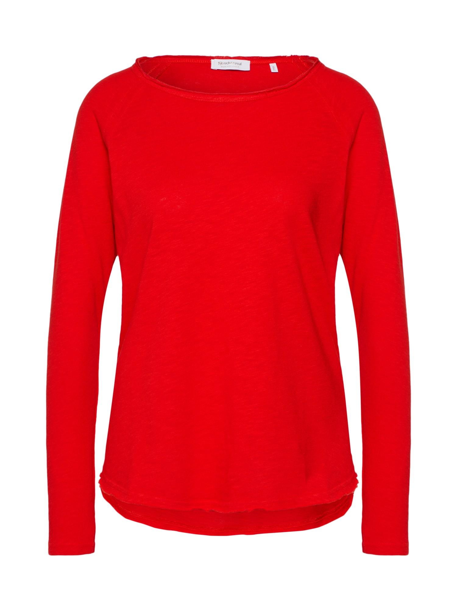 Tričko červená Rich & Royal