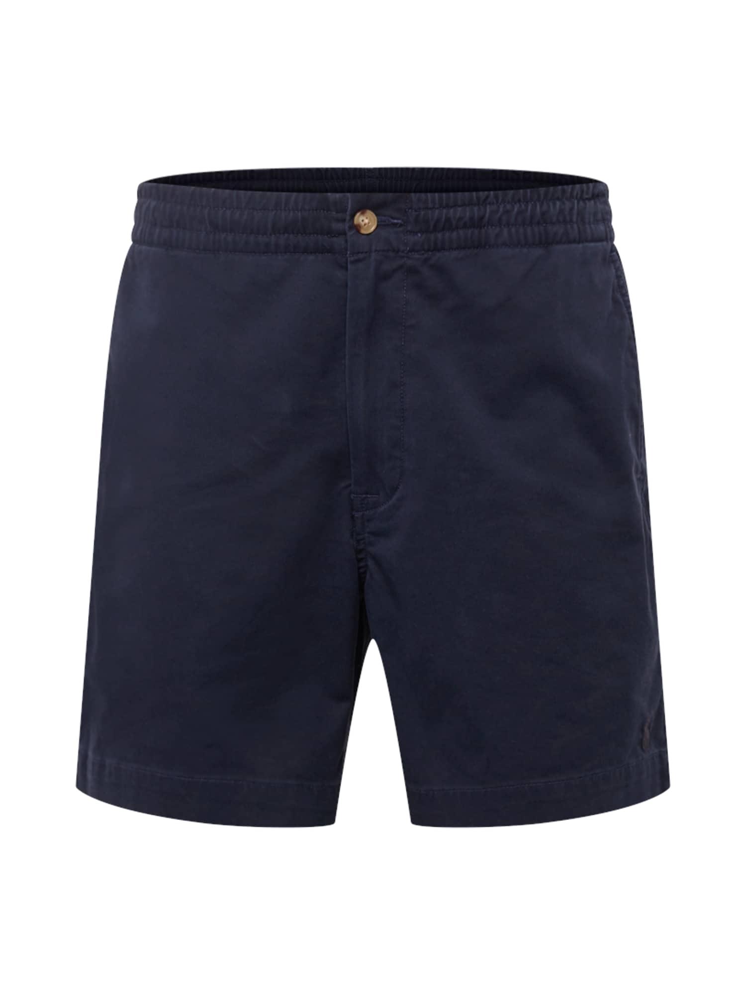 Chino kalhoty CFPREPSTERS-FLAT-SHORT marine modrá POLO RALPH LAUREN