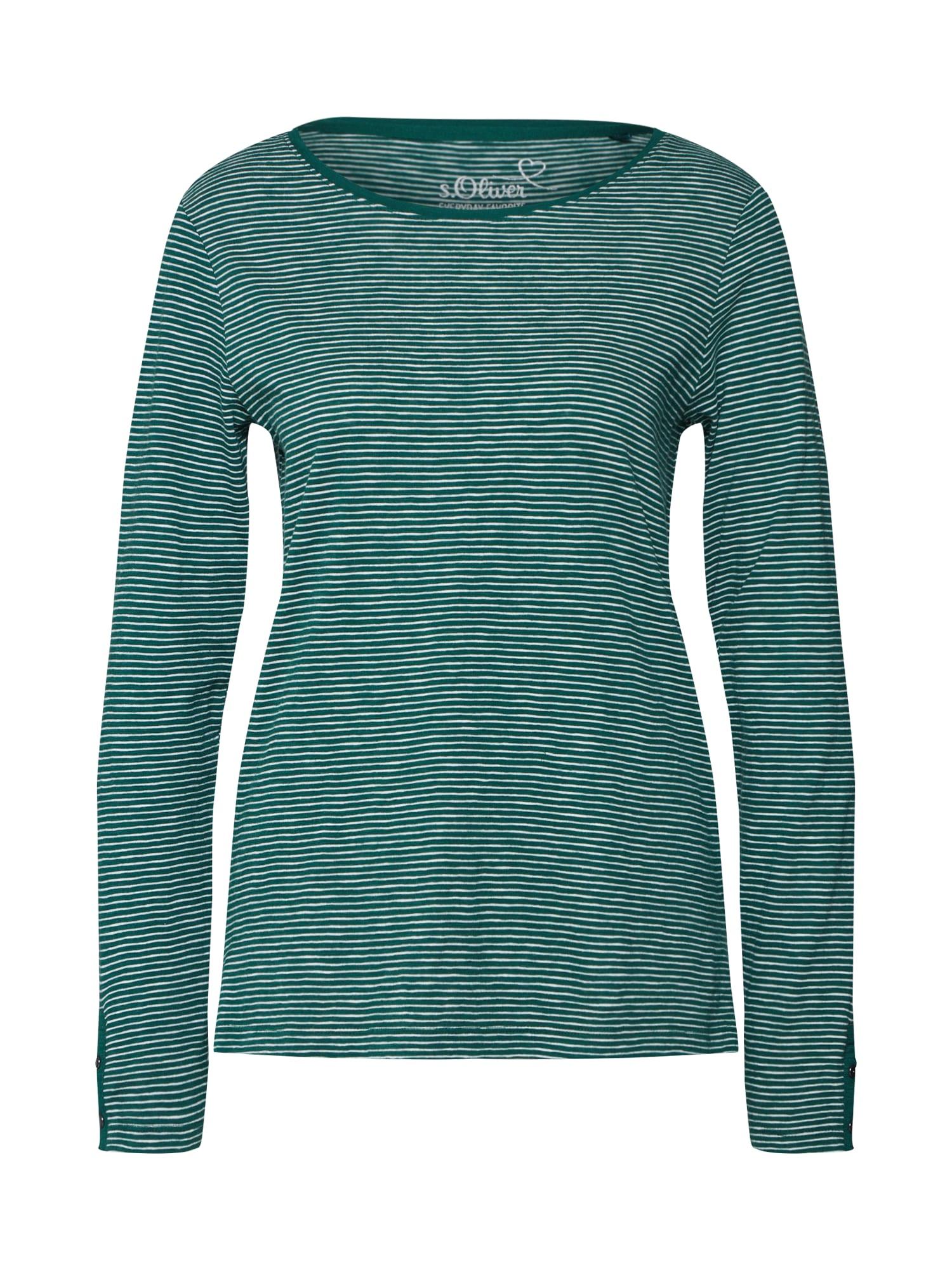 Tričko zelená S.Oliver RED LABEL