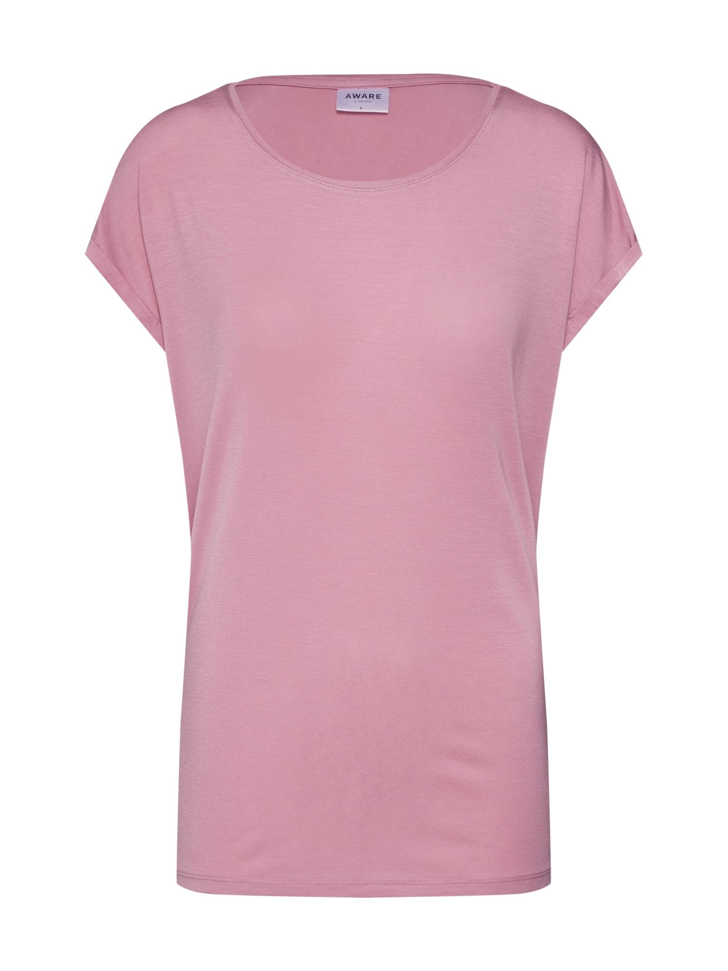 Oversized tričko Aware růžová VERO MODA