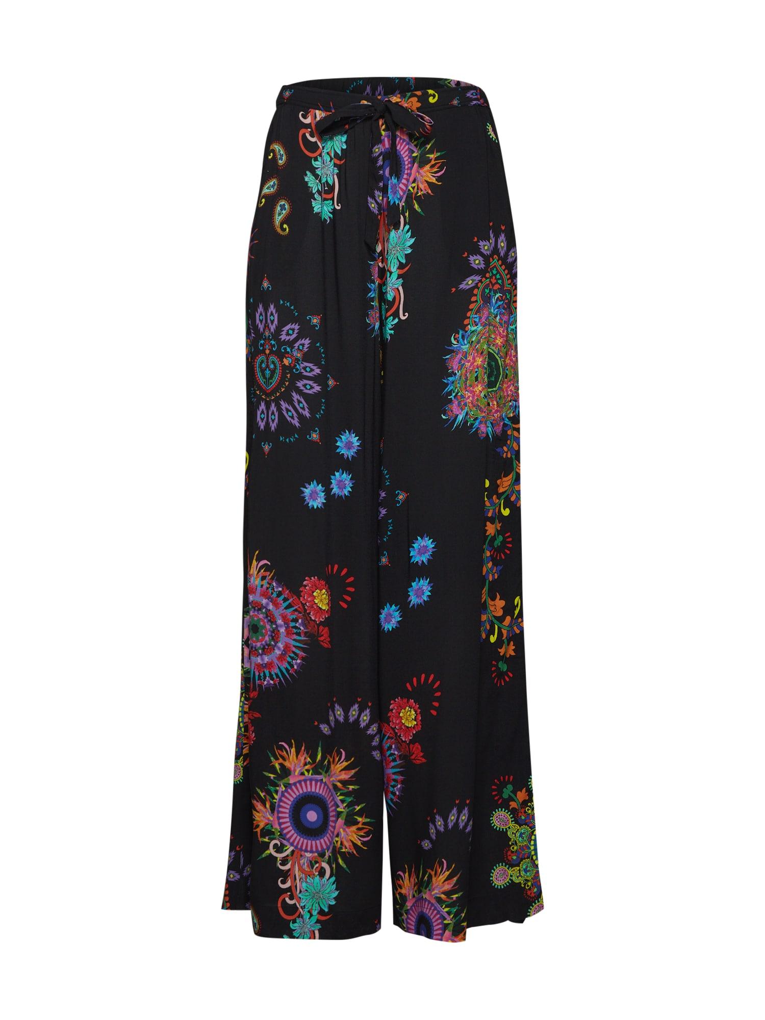 Kalhoty KASIDY  mix barev  černá Desigual
