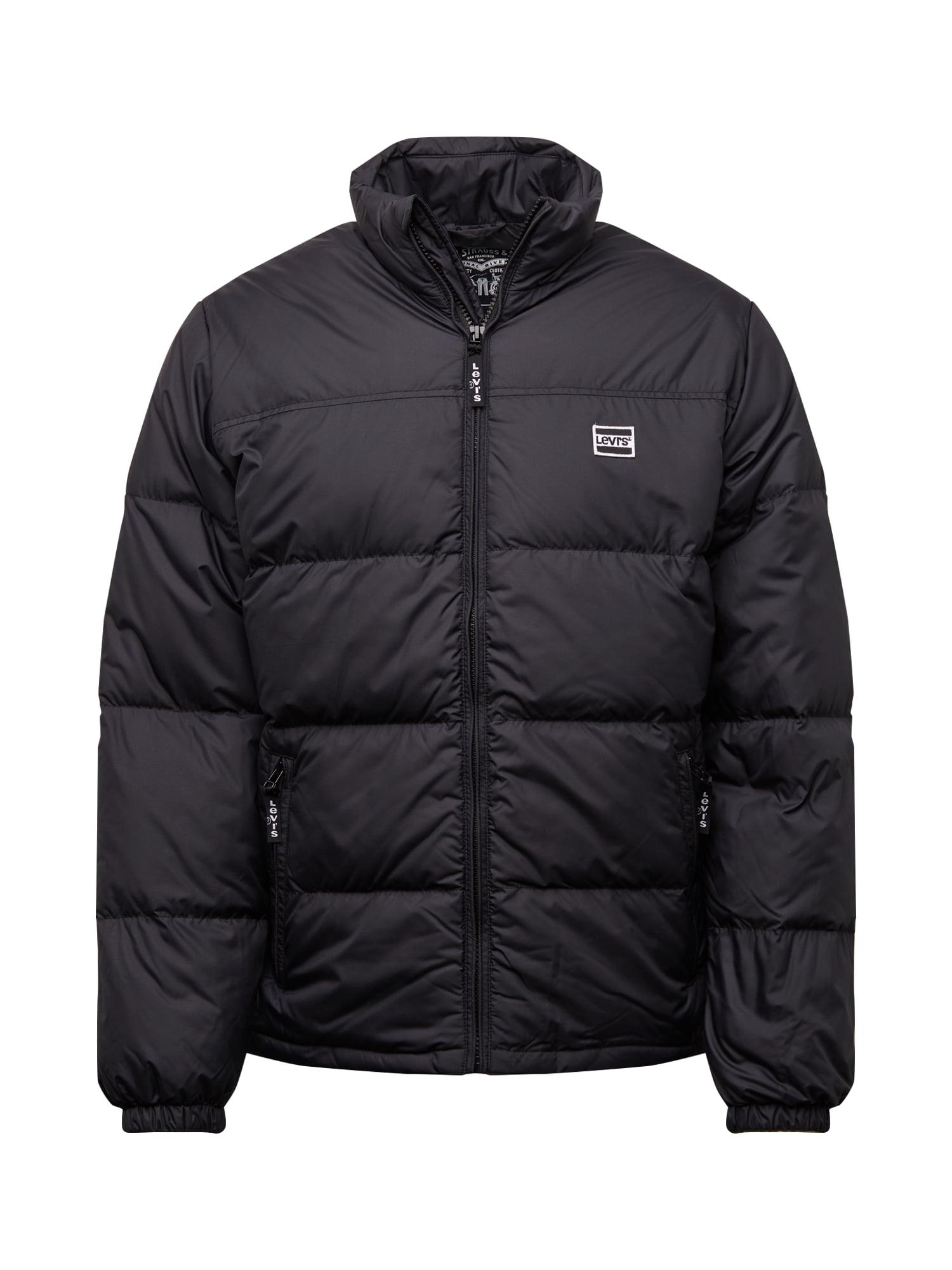 LEVIS Zimní bunda COITDOWNPUFFER černá LEVI'S