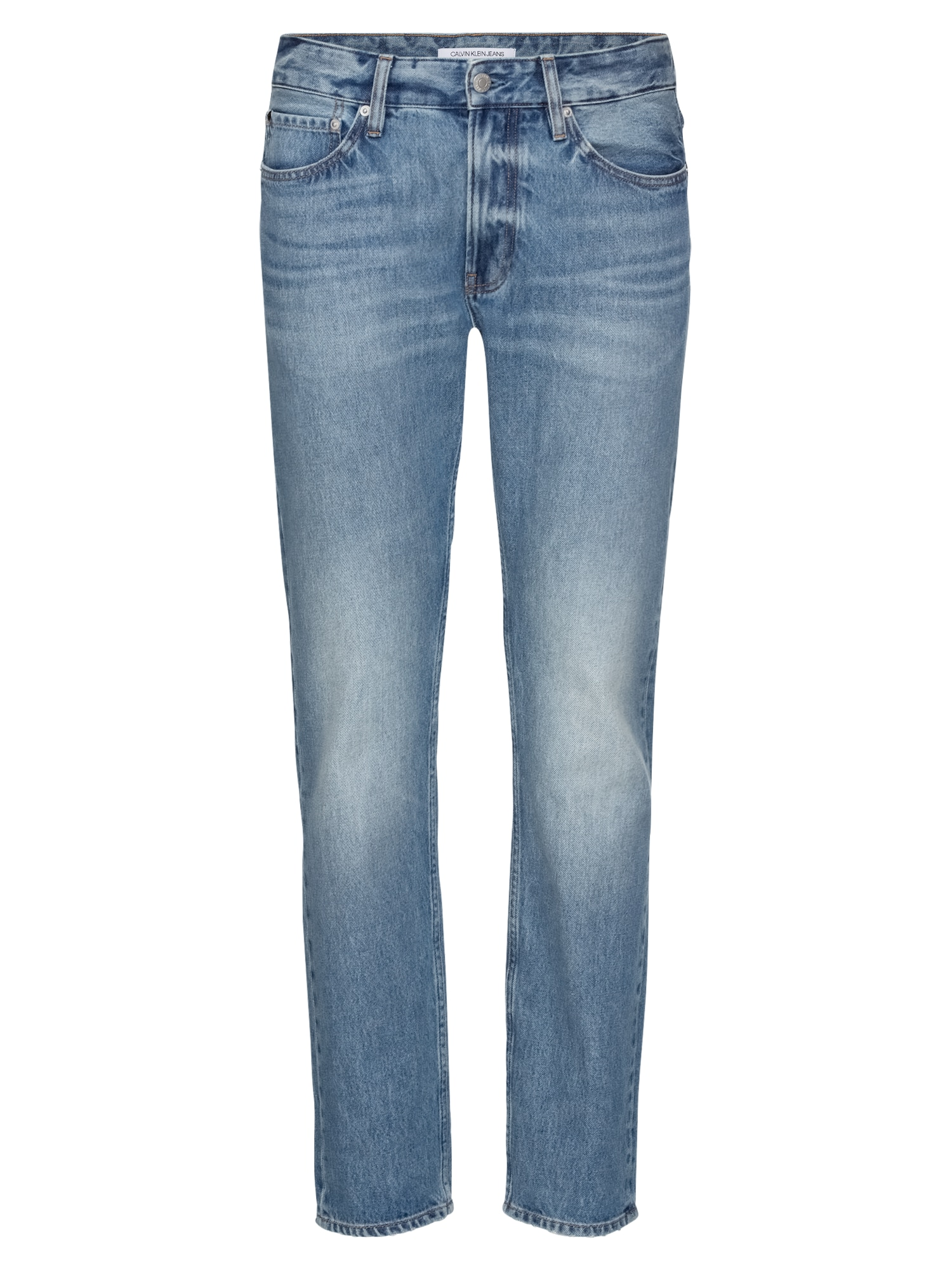 Džíny CKJ 026 SLIM modrá džínovina Calvin Klein Jeans