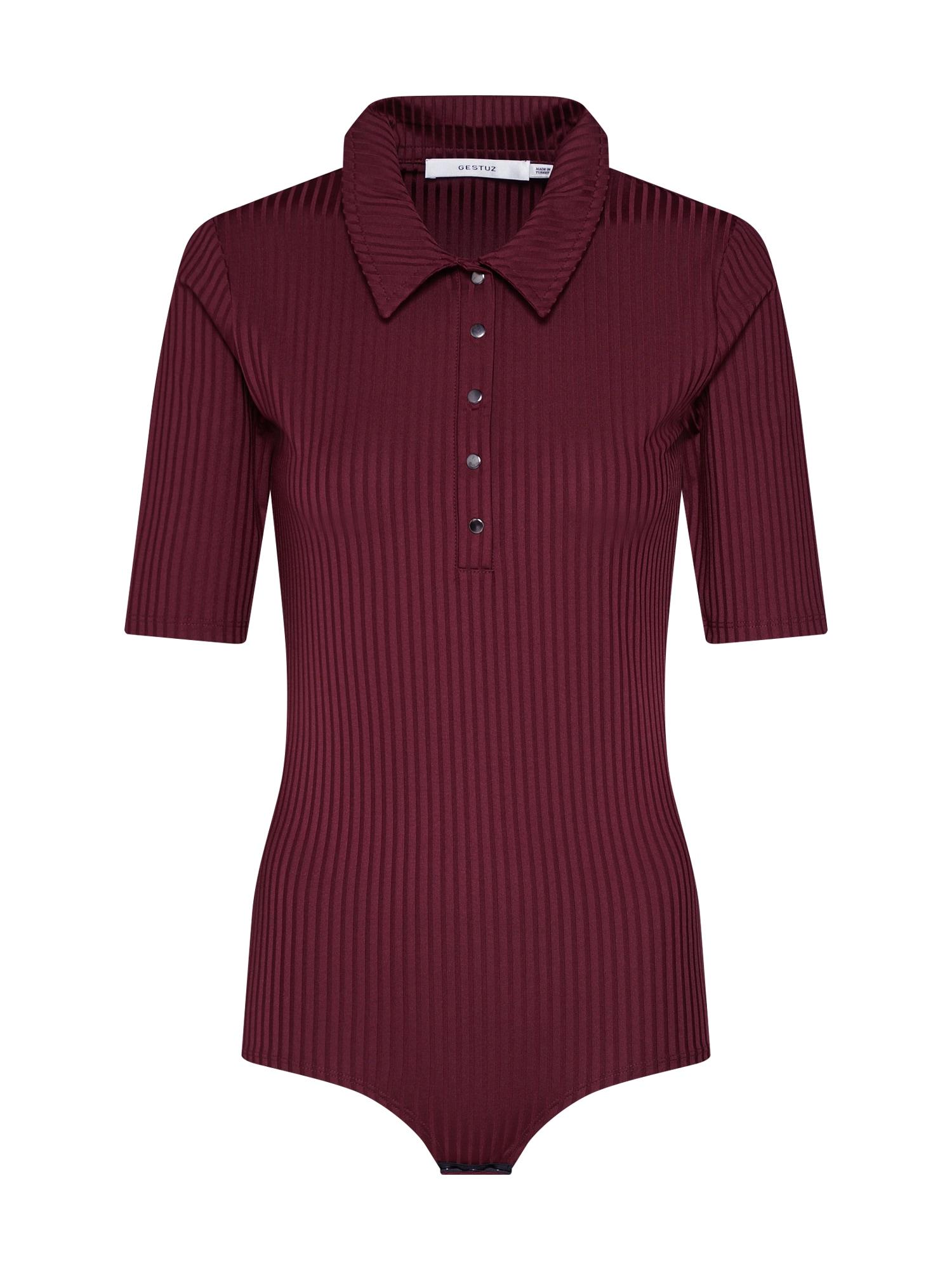 Tričko vínově červená Gestuz