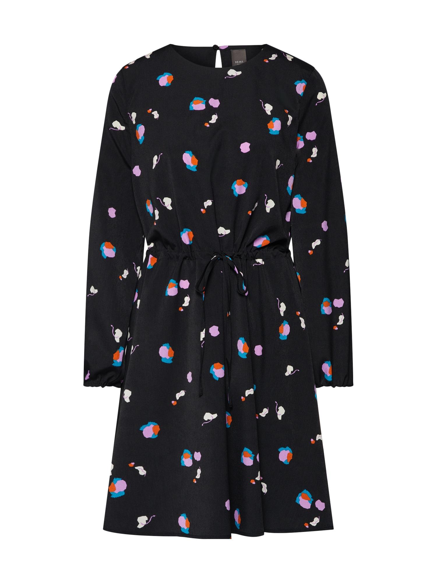 Šaty IXDAGNY mix barev černá ICHI