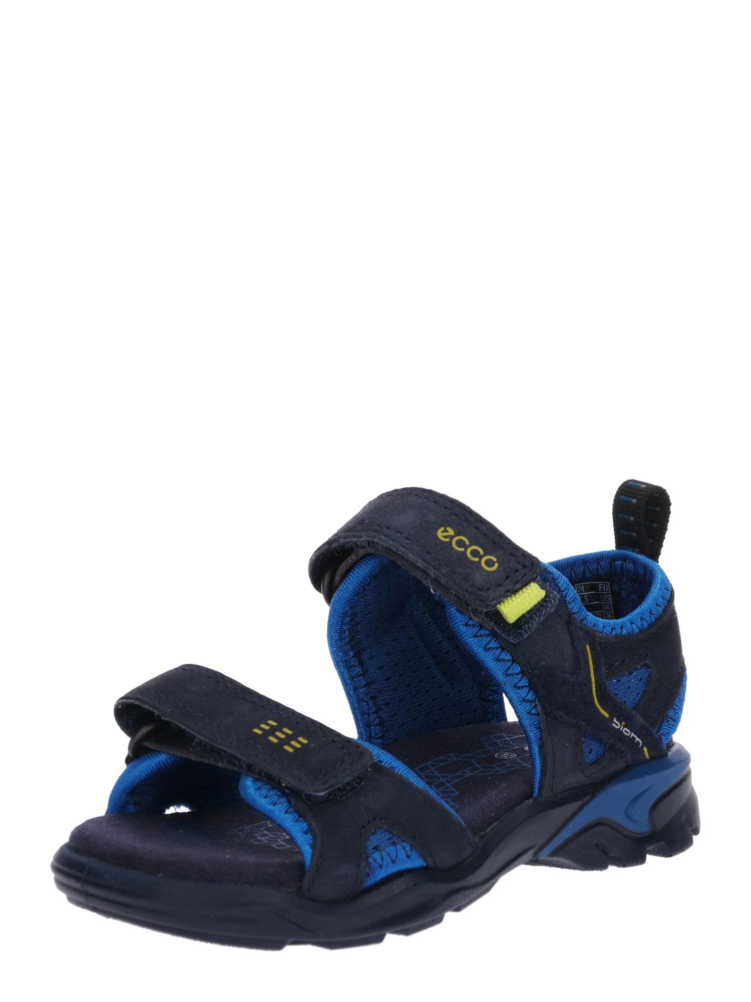 Sandály Biom noční modrá ECCO