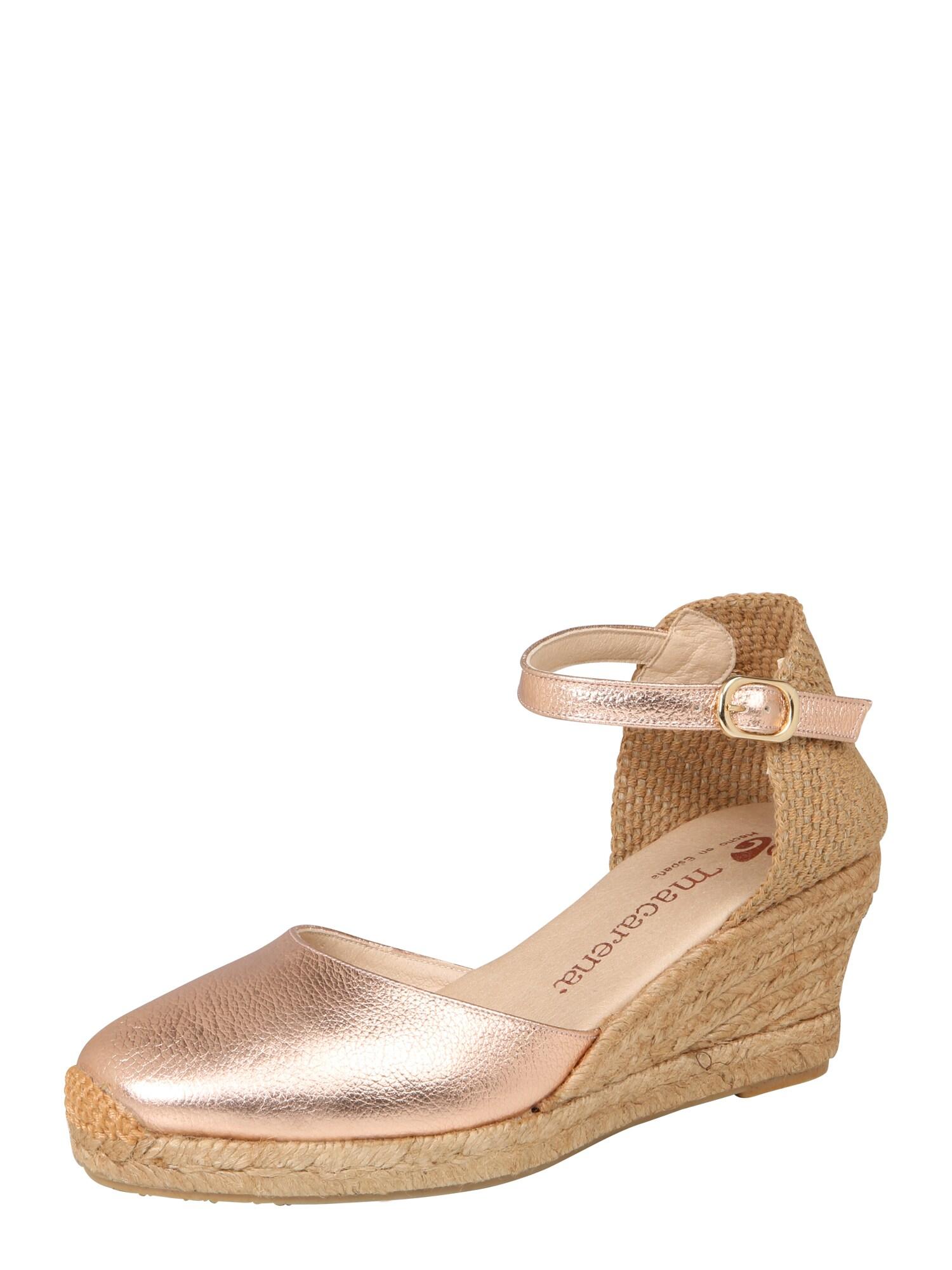 Sandály Ana 21 růžová MACARENA