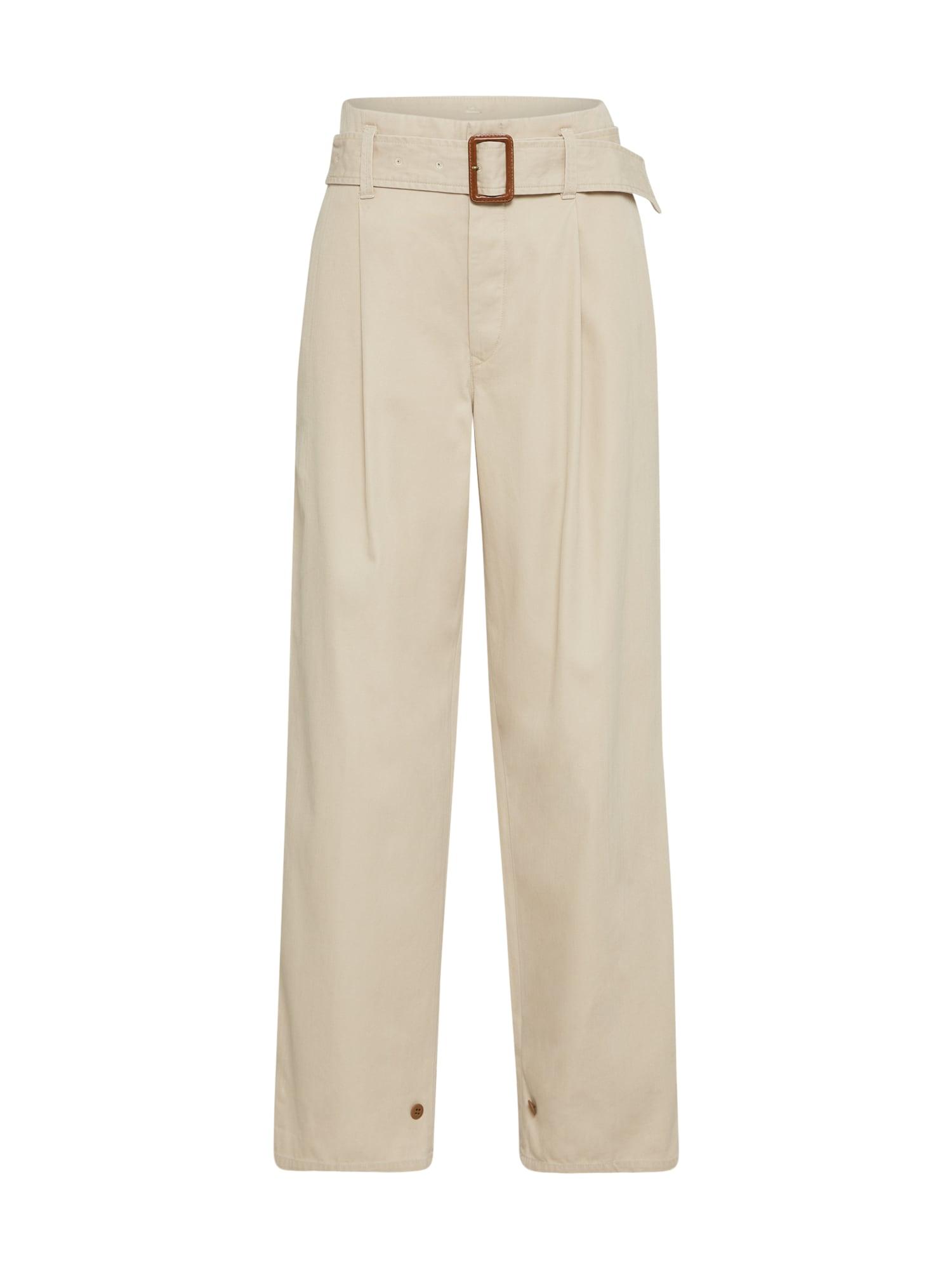Kalhoty s puky tělová POLO RALPH LAUREN