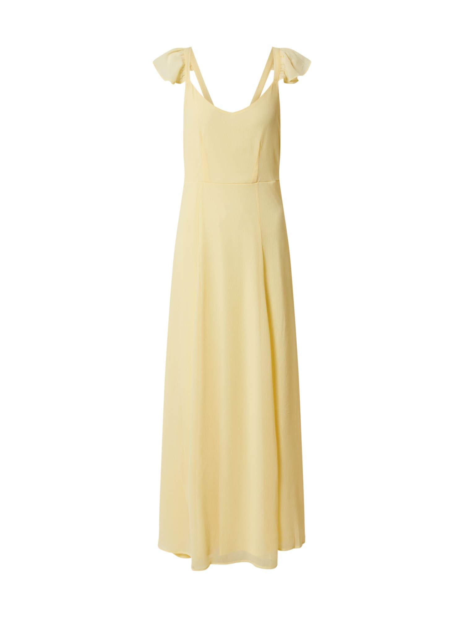 VILA Letní šaty 'VIRILLA'  žlutá