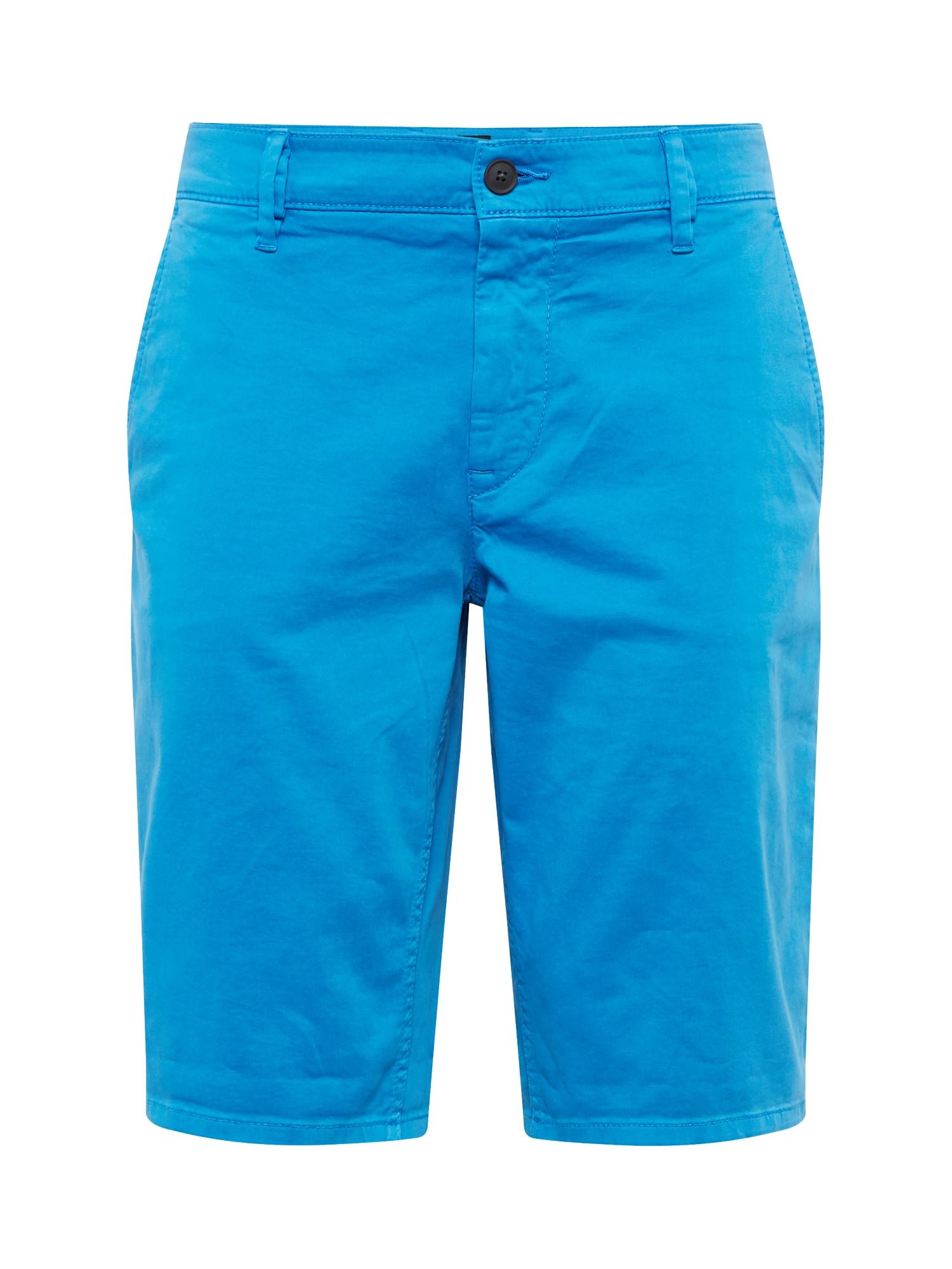 Chino kalhoty Schino-Slim Shorts 10214649 modrá BOSS