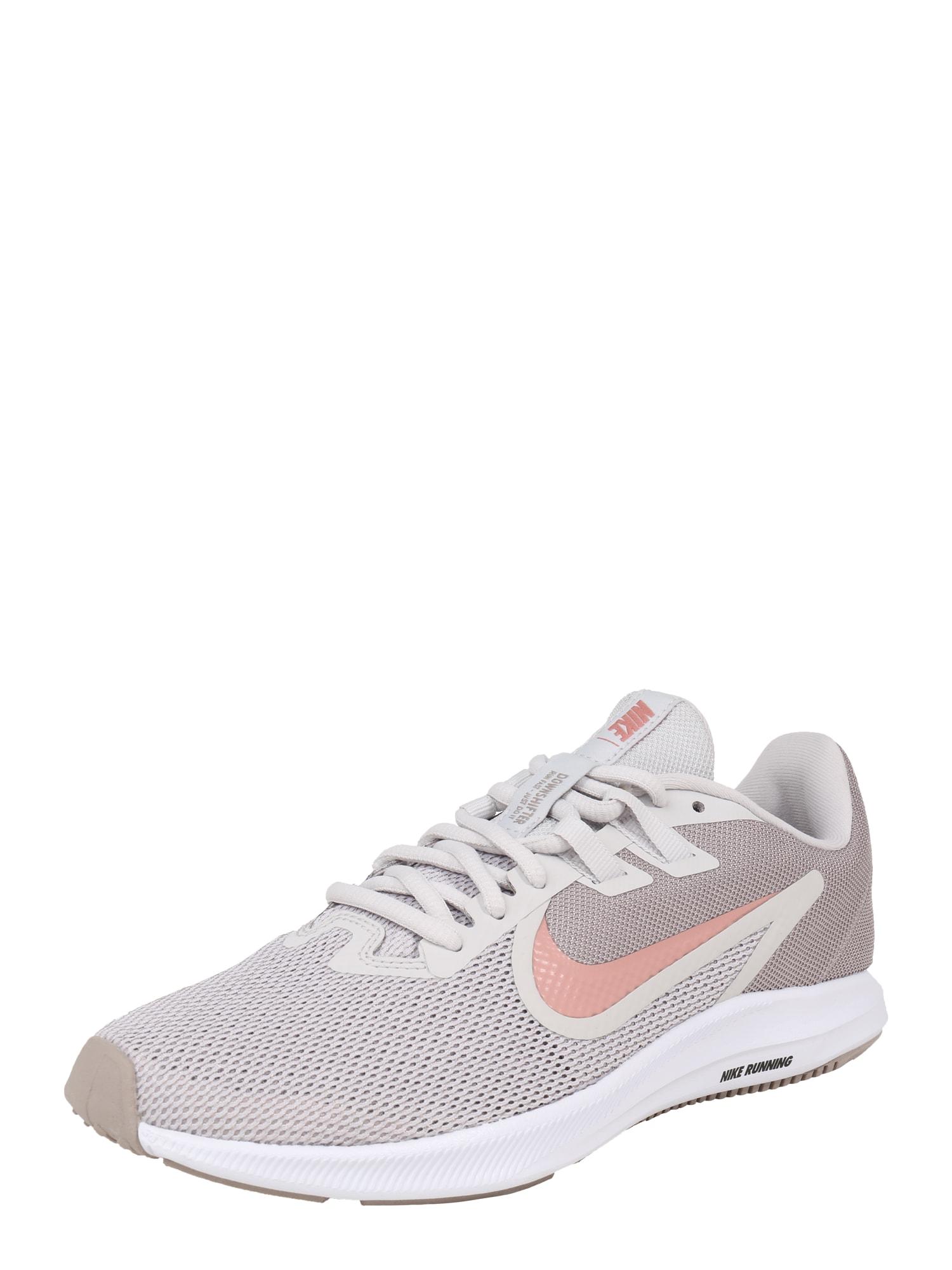 Běžecká obuv DOWNSHIFTER 9 světle šedá růžová NIKE