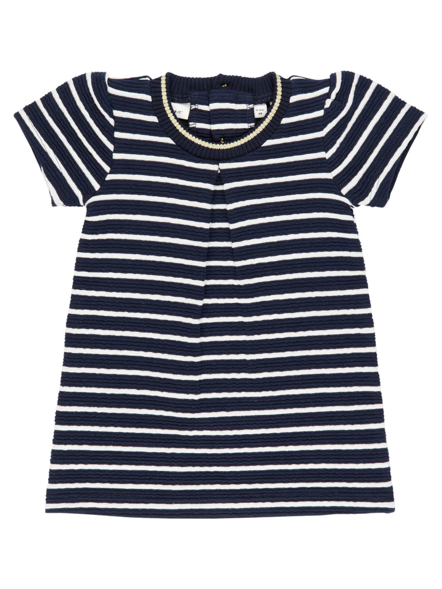 Name it Meisjes Jurk navy / wit