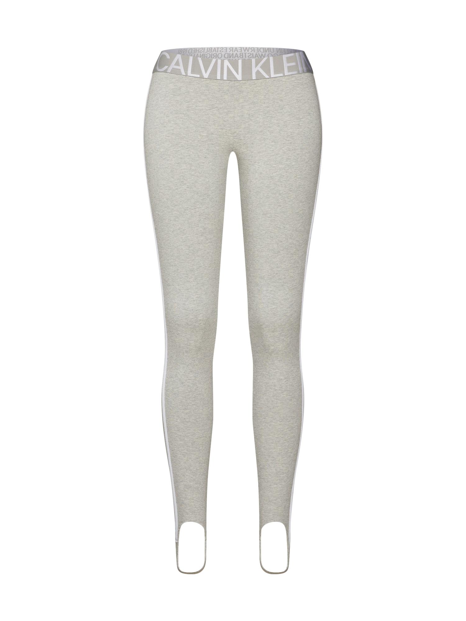 Legíny šedá Calvin Klein Underwear