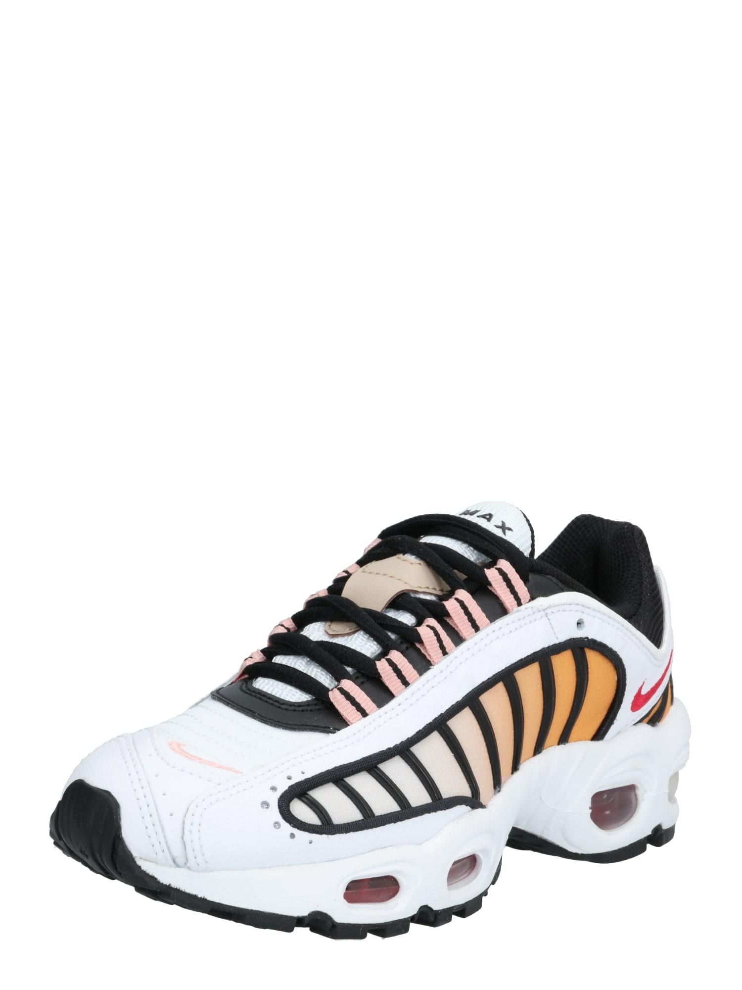 Nike Sportswear Nízke tenisky 'Nike Air Max Tailwind IV'  červené / čierna / biela