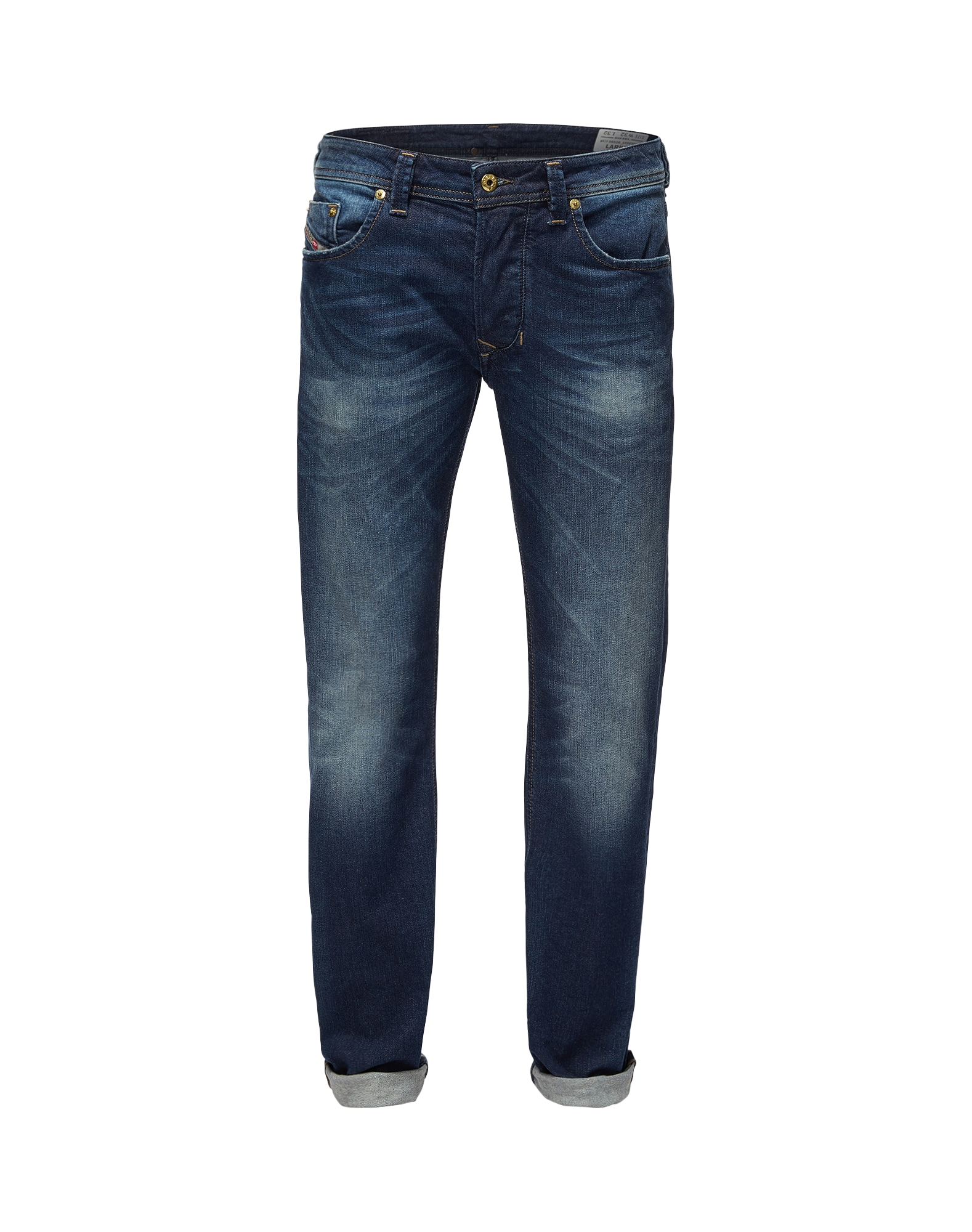 DIESEL Heren Jeans Larkee donkerblauw
