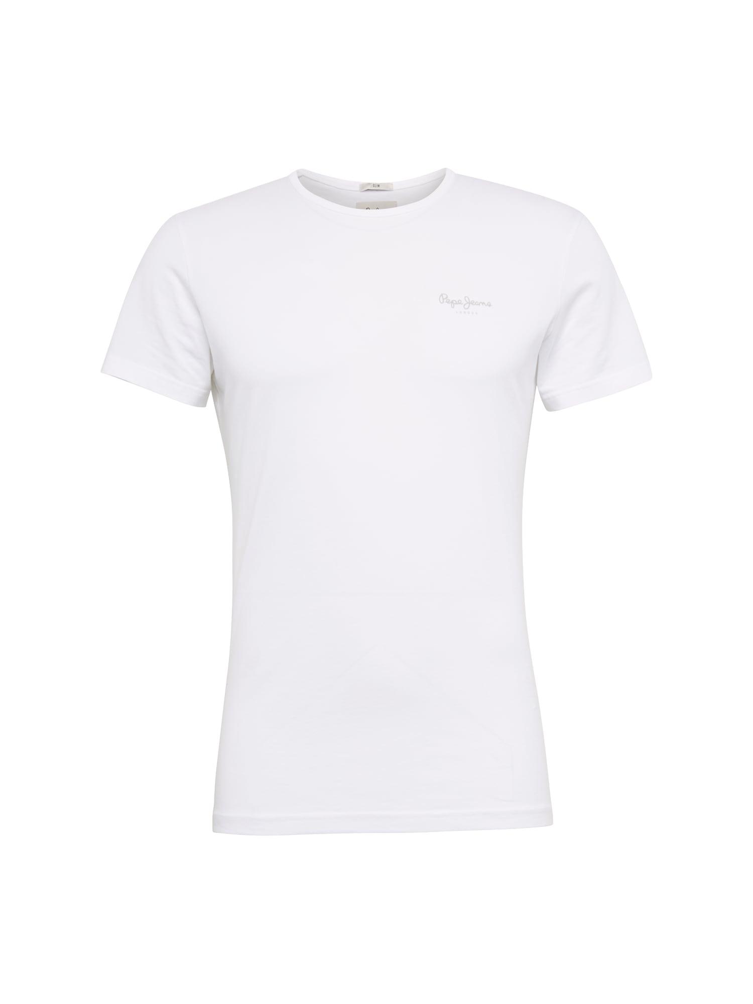 Pepe Jeans Heren Shirt ORIGINAL BASIC S S wit