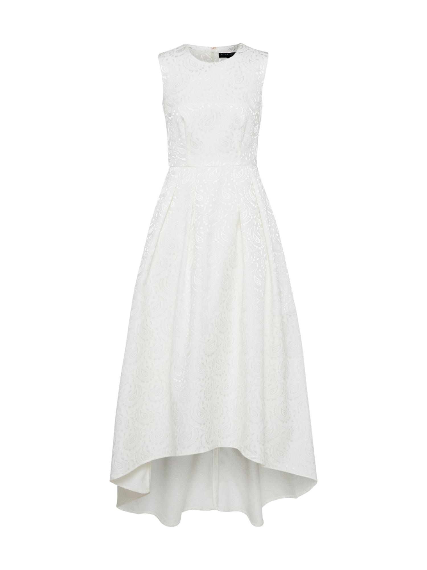 Koktejlové šaty SELIMA krémová Four Flavor