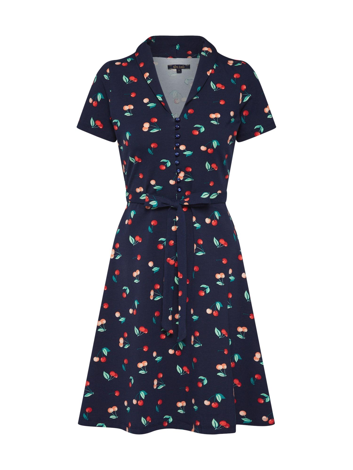 Letní šaty Emmy Dolce Vita tmavě modrá mix barev King Louie