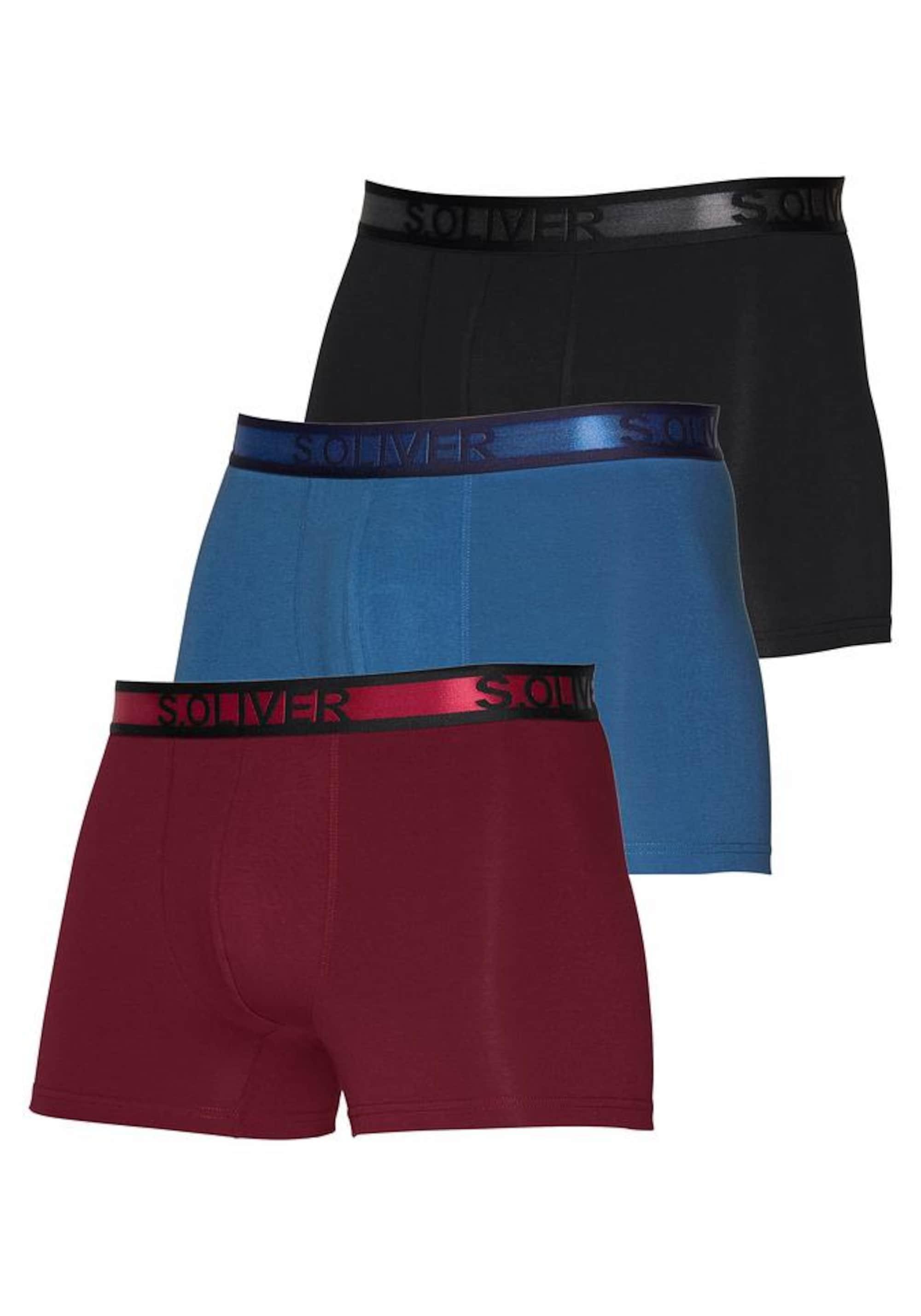 s.oliver red label - Boxershorts 3er Pack